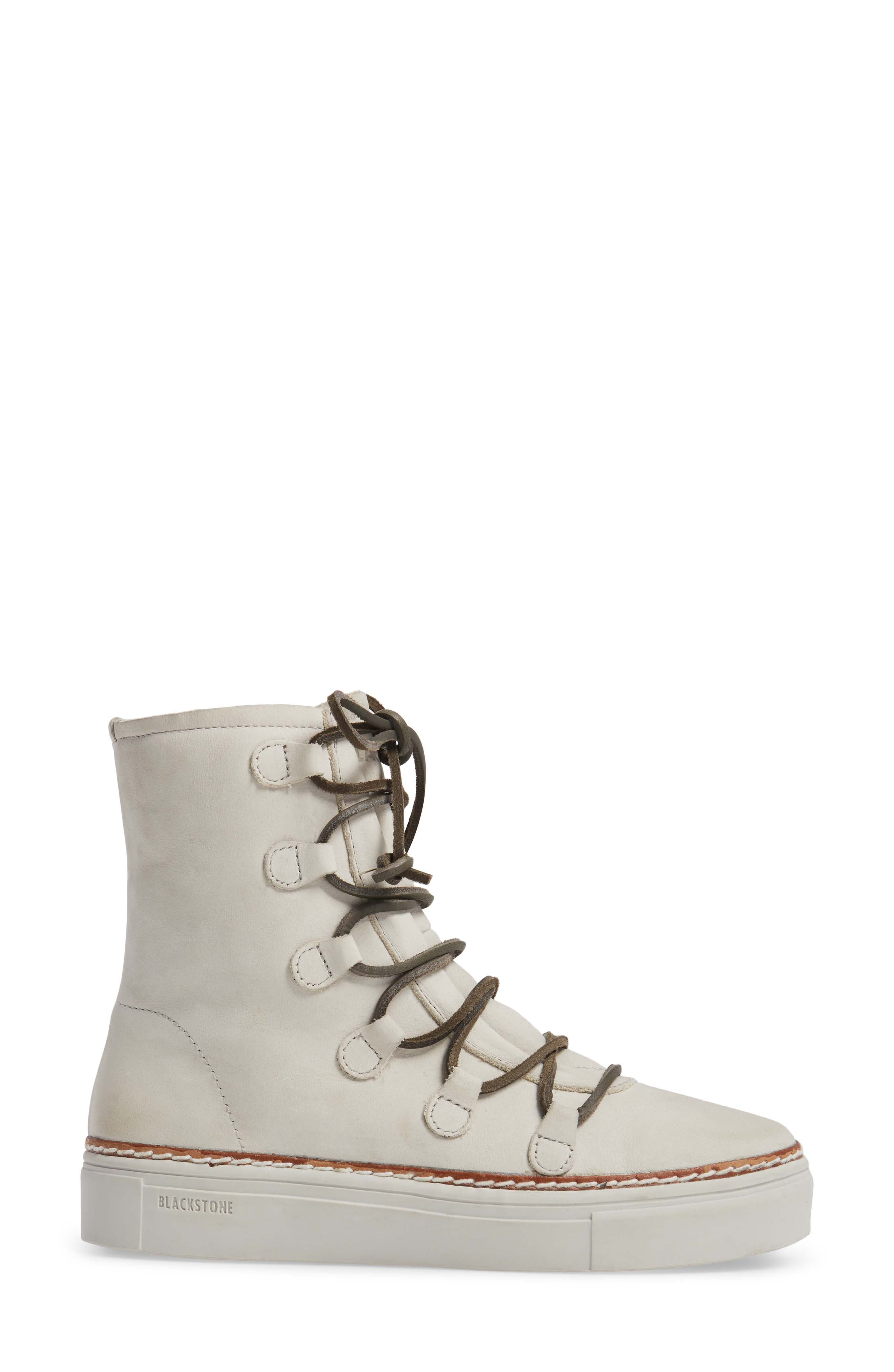 Alternate Image 3  - Blackstone OL26 Genuine Shearling Lined Lace-Up Bootie (Women)