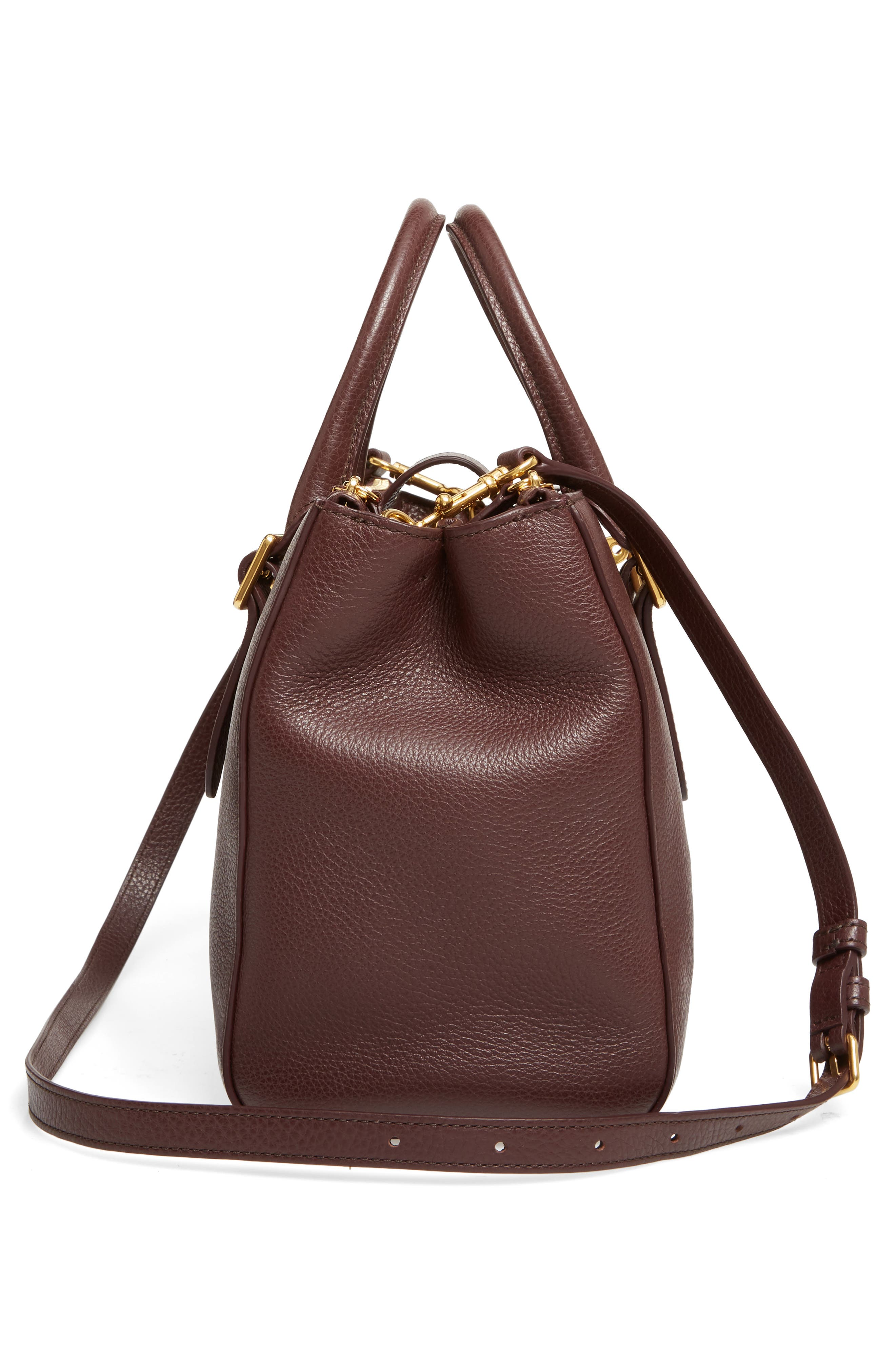Alternate Image 3  - Mulberry Small Bayswater Double Zip Leather Satchel
