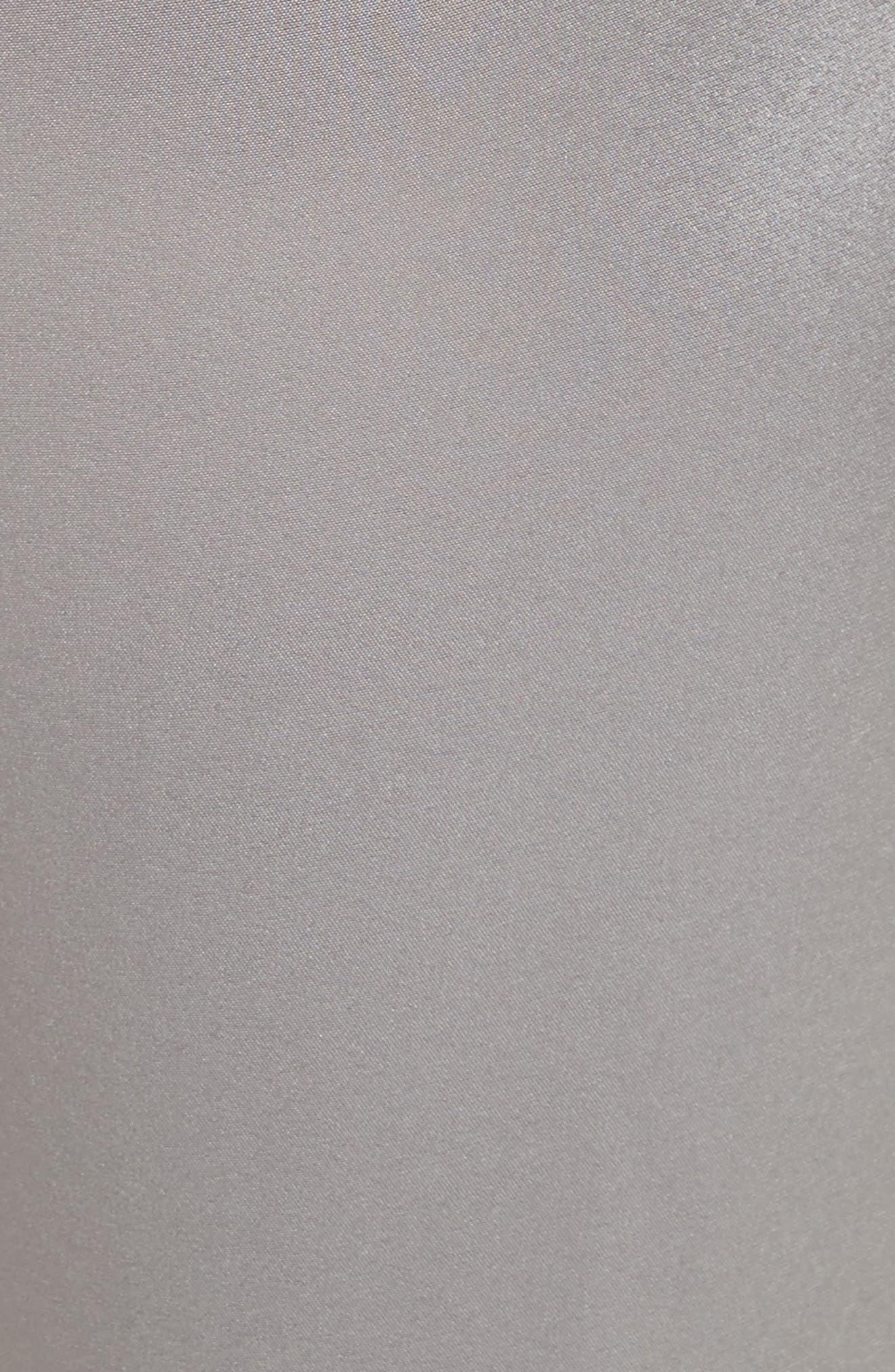 Liquid Satin Pants,                             Alternate thumbnail 6, color,                             Grey
