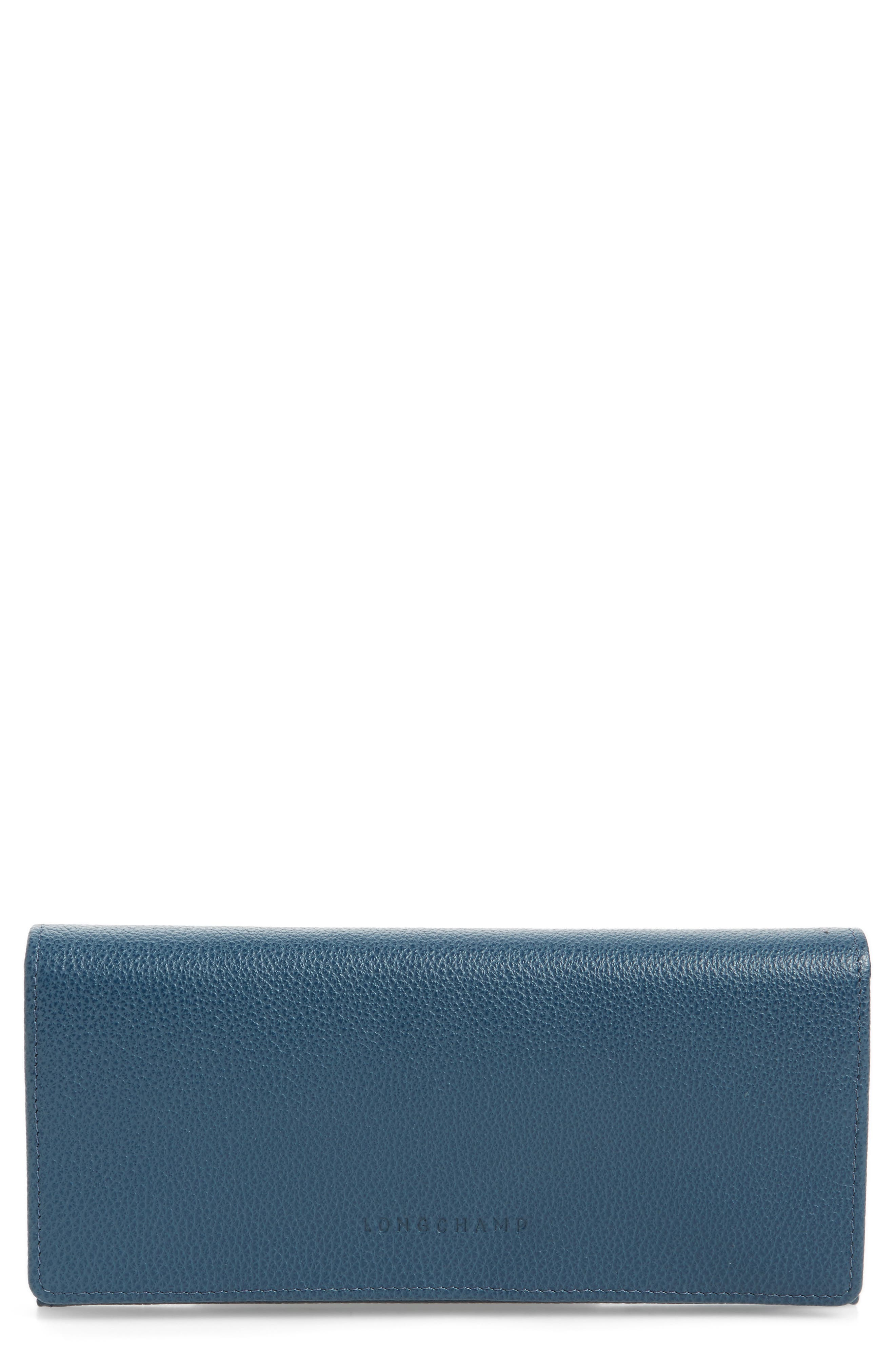 Main Image - Longchamp 'Veau Foulonne' Continental Wallet