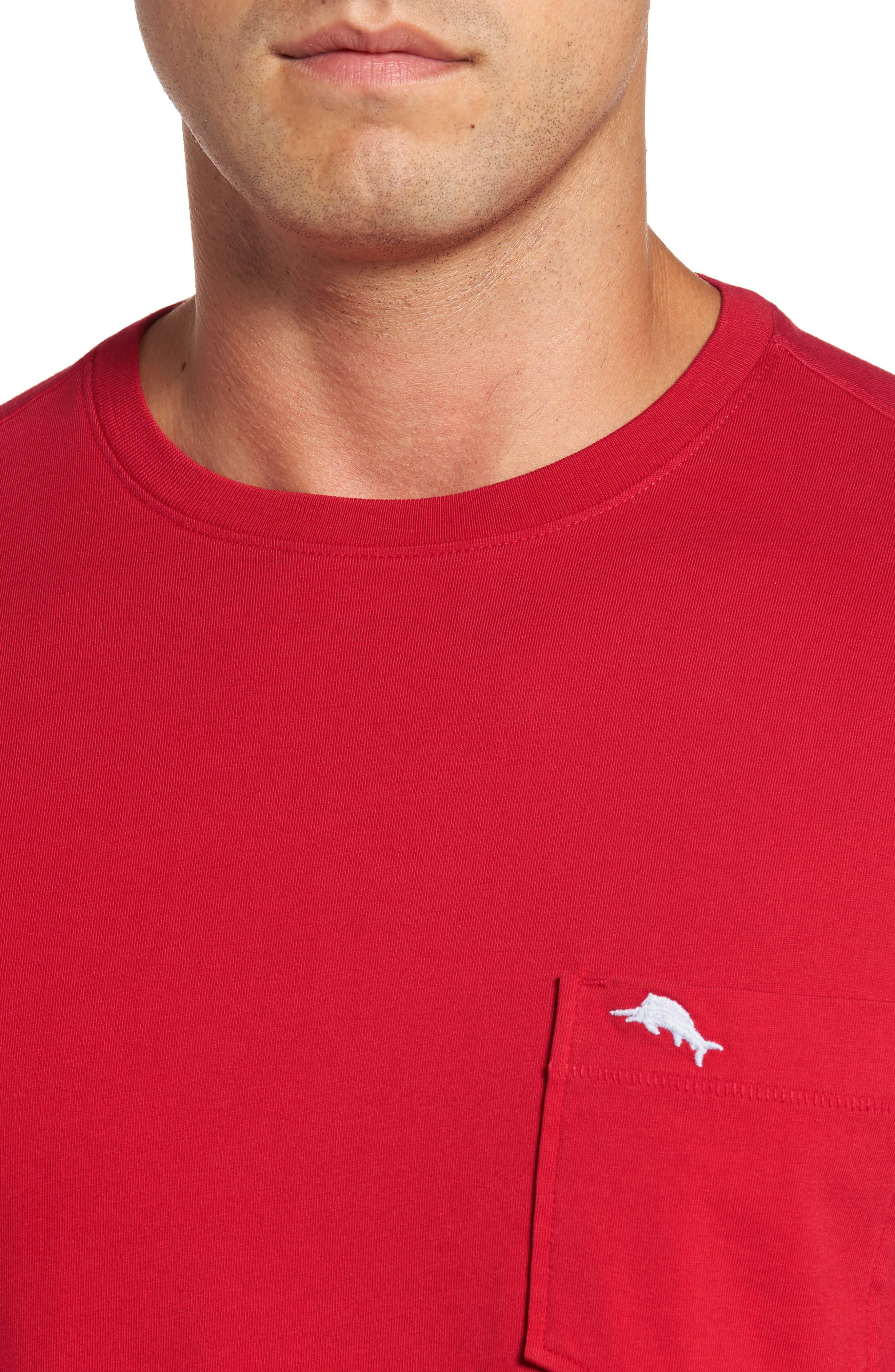 Alternate Image 4  - Tommy Bahama Bali Skyline Long Sleeve Pima Cotton T-Shirt