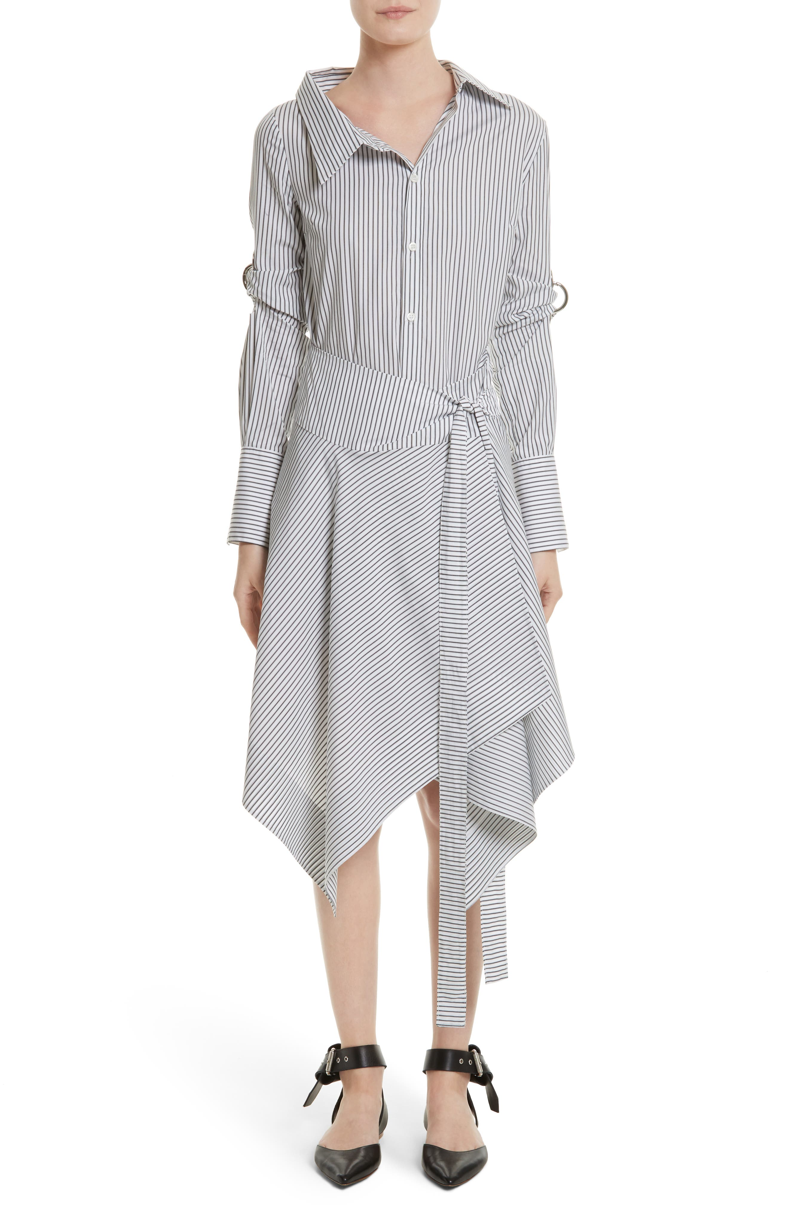 Alternate Image 1 Selected - MONSE Wrap Shirtdress