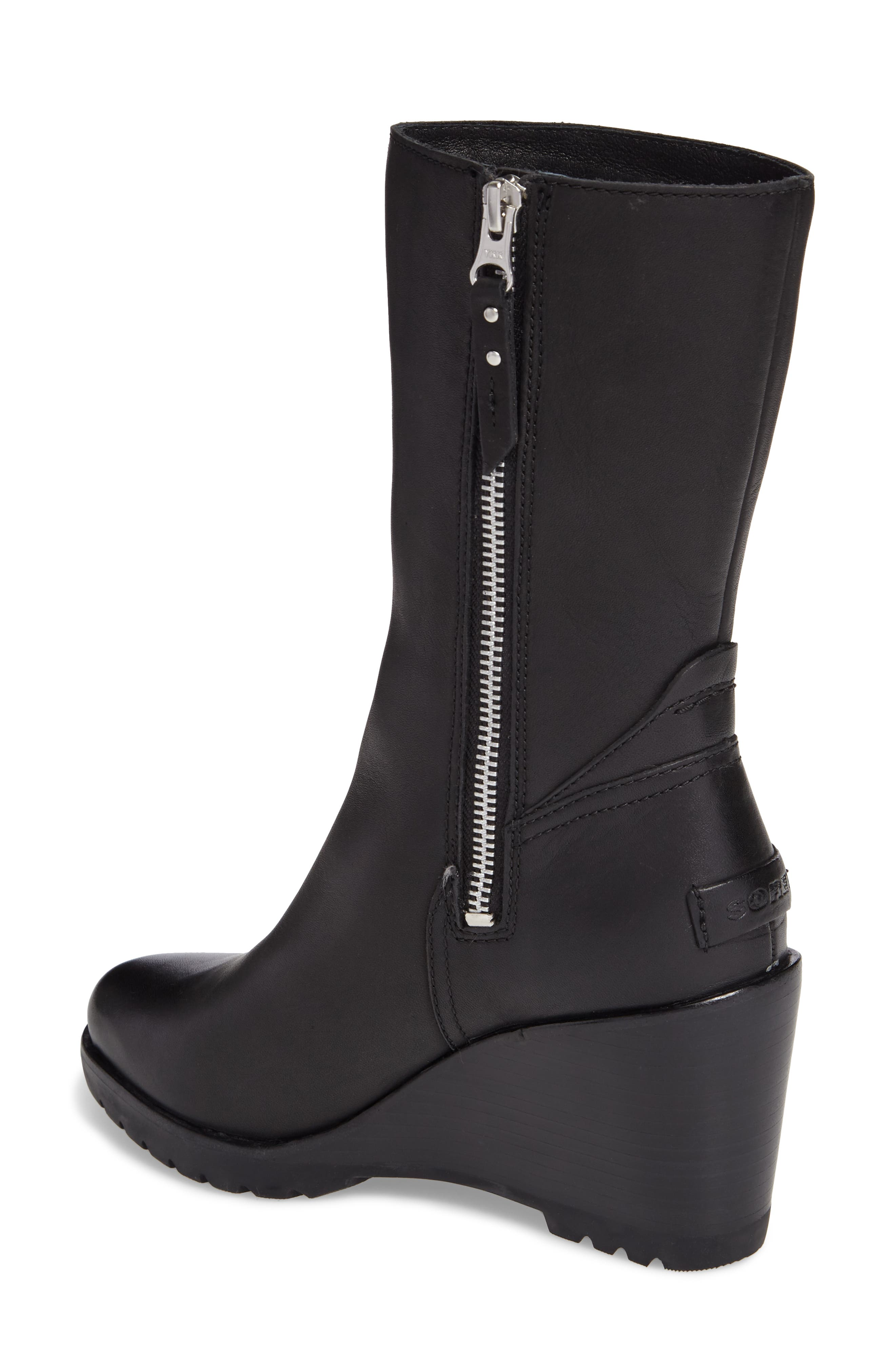 After Hours Waterproof Bootie,                             Alternate thumbnail 2, color,                             Black