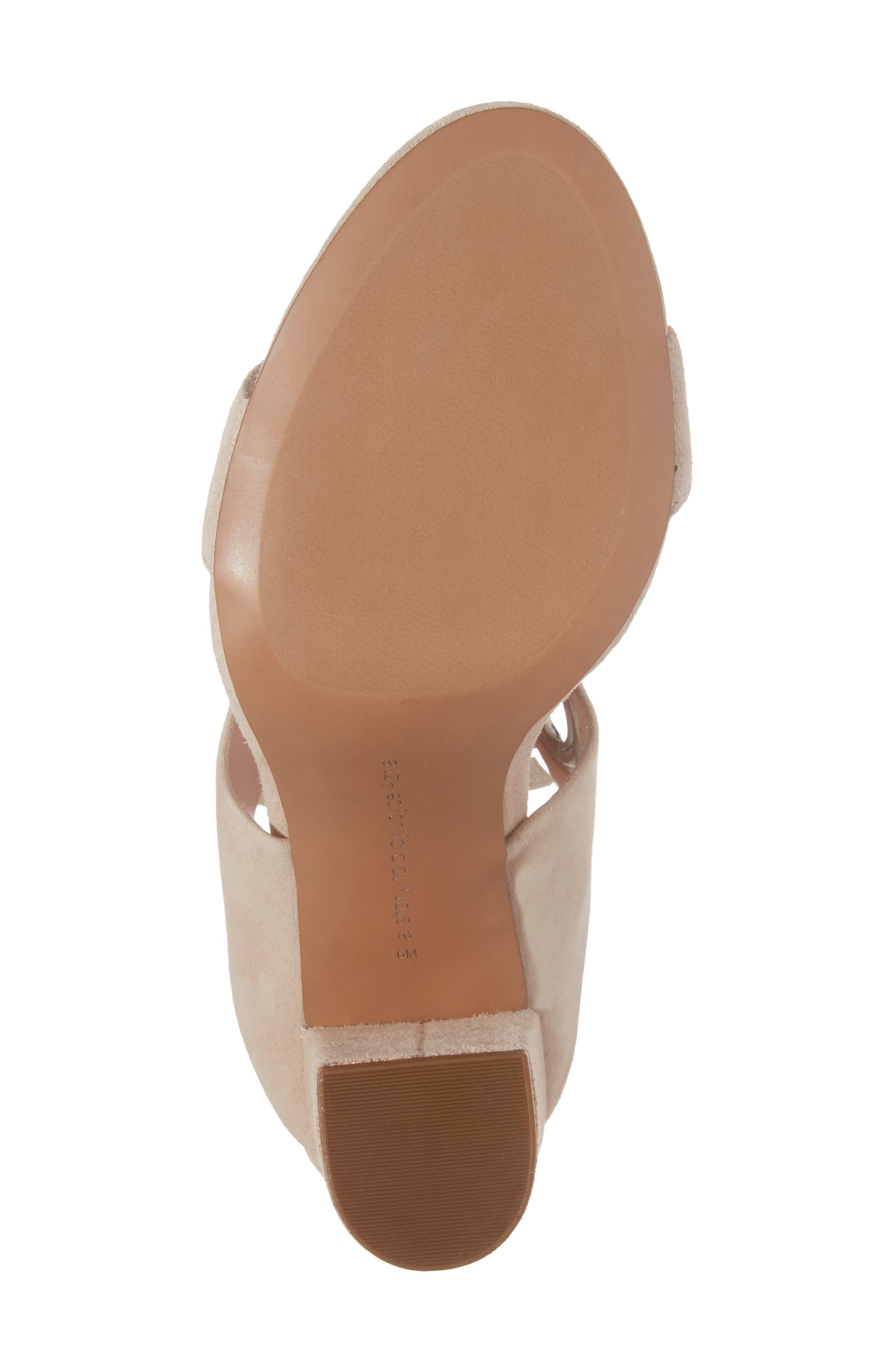 Alternate Image 6  - Avec Les Filles Megan Tie Strap Sandal (Women)