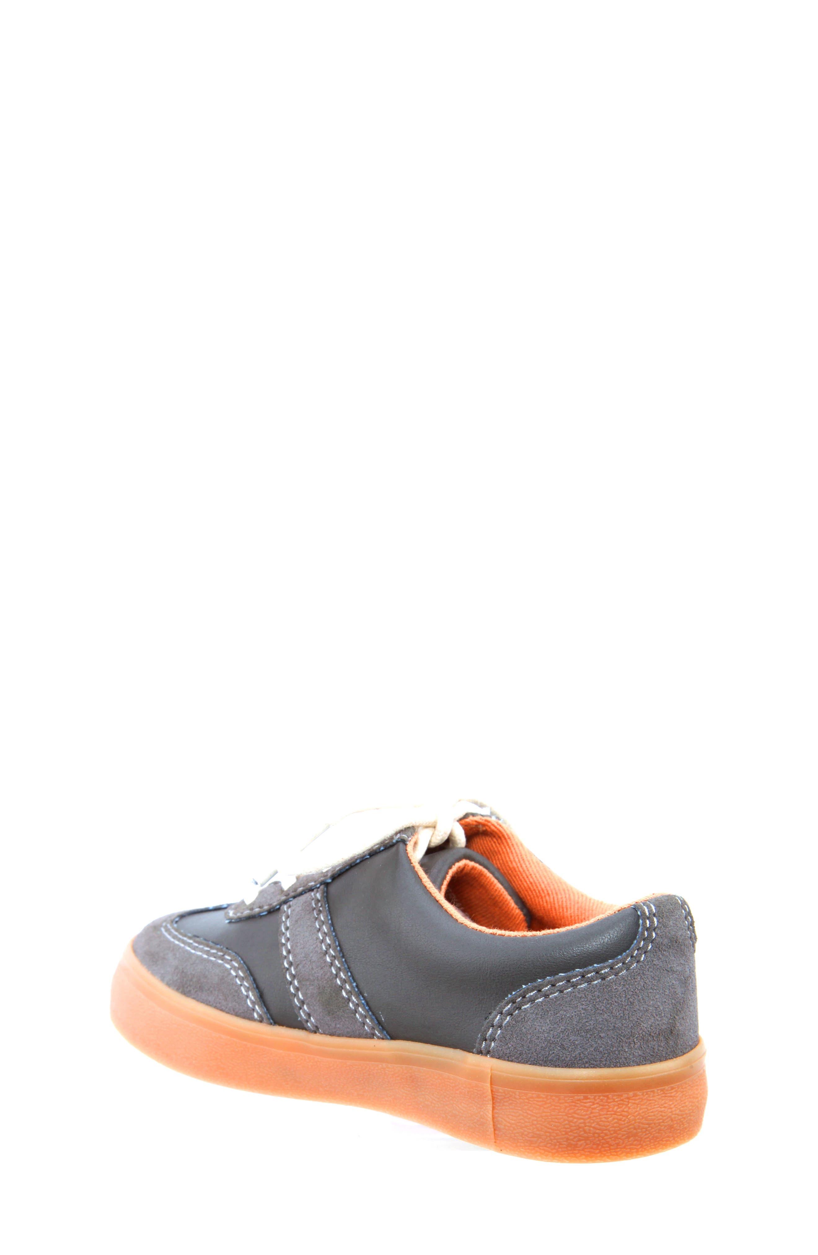 Neal Low Top Sneaker,                             Alternate thumbnail 2, color,                             Grey Suede