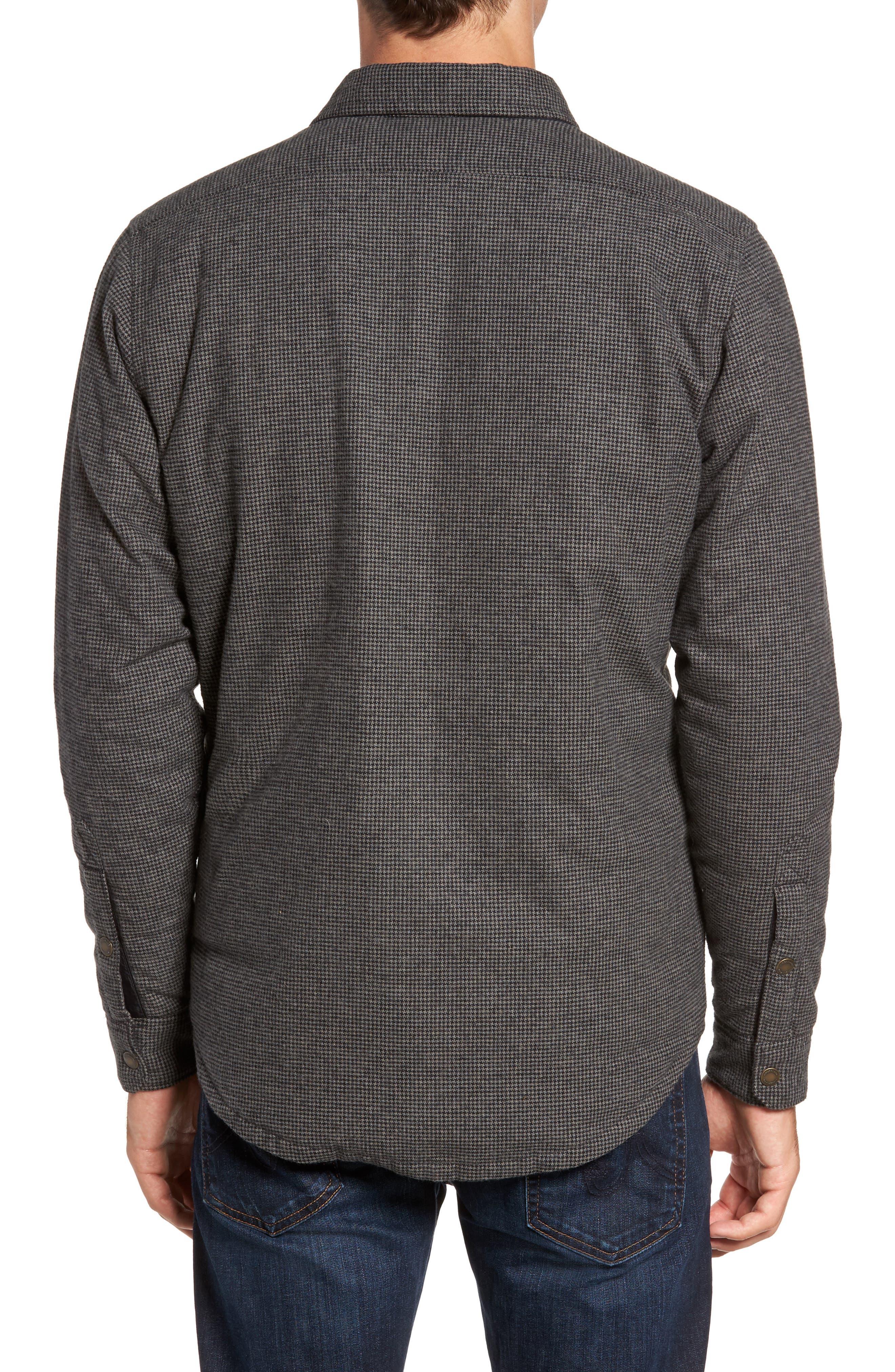 Alternate Image 2  - Timberland Gunstock River Reversible Down Shirt Jacket