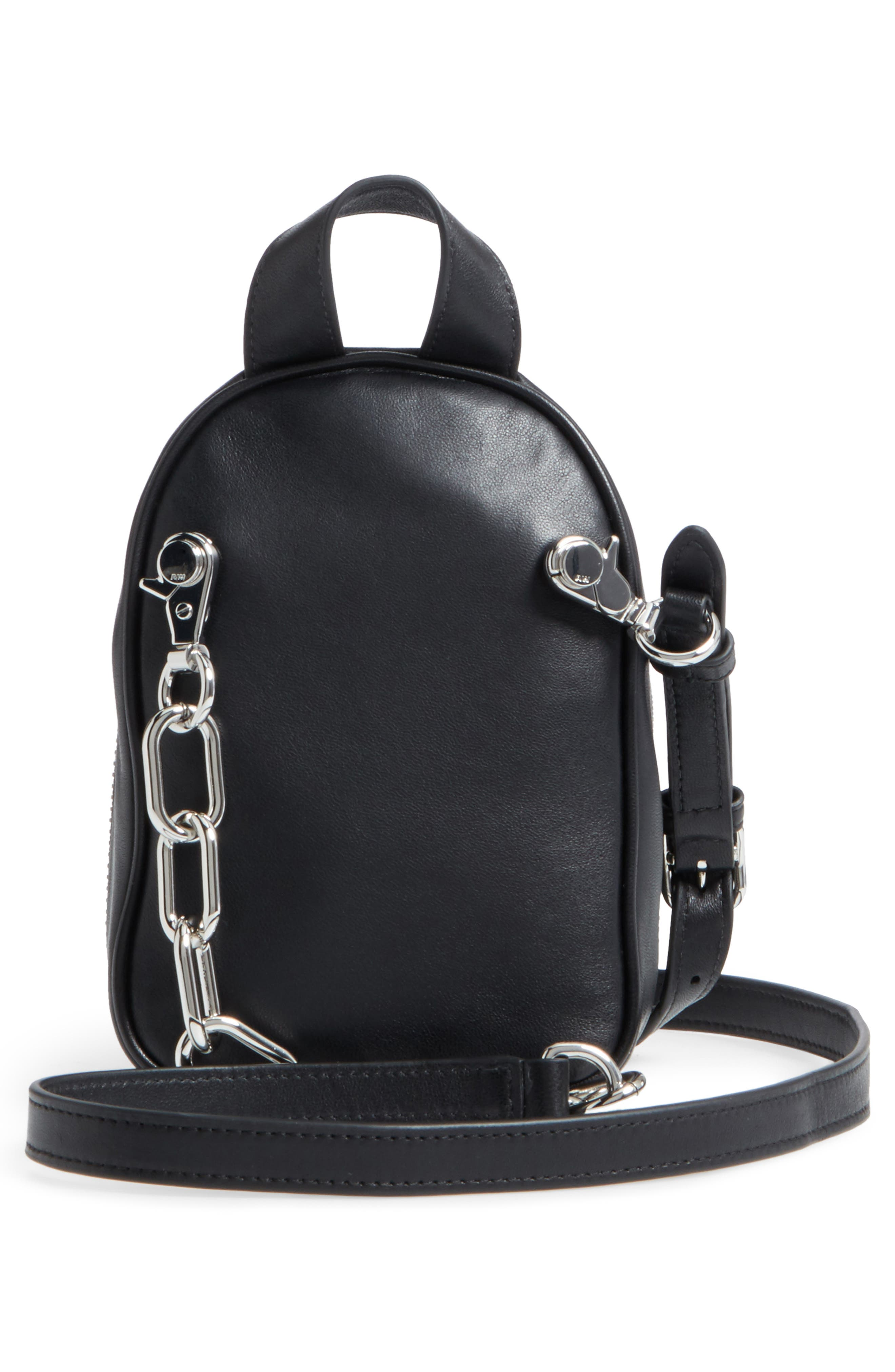 Alternate Image 2  - Alexander Wang Mini Attica Leather Backpack Shaped Crossbody Bag