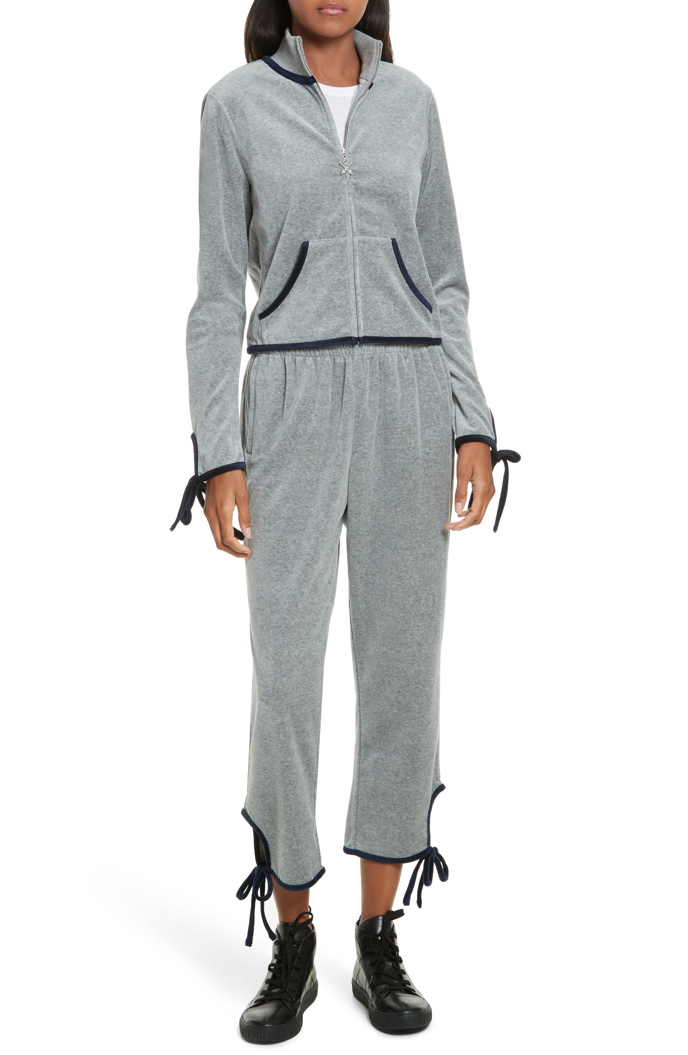 Alternate Image 2  - Opening Ceremony Velour Tie Track Pants