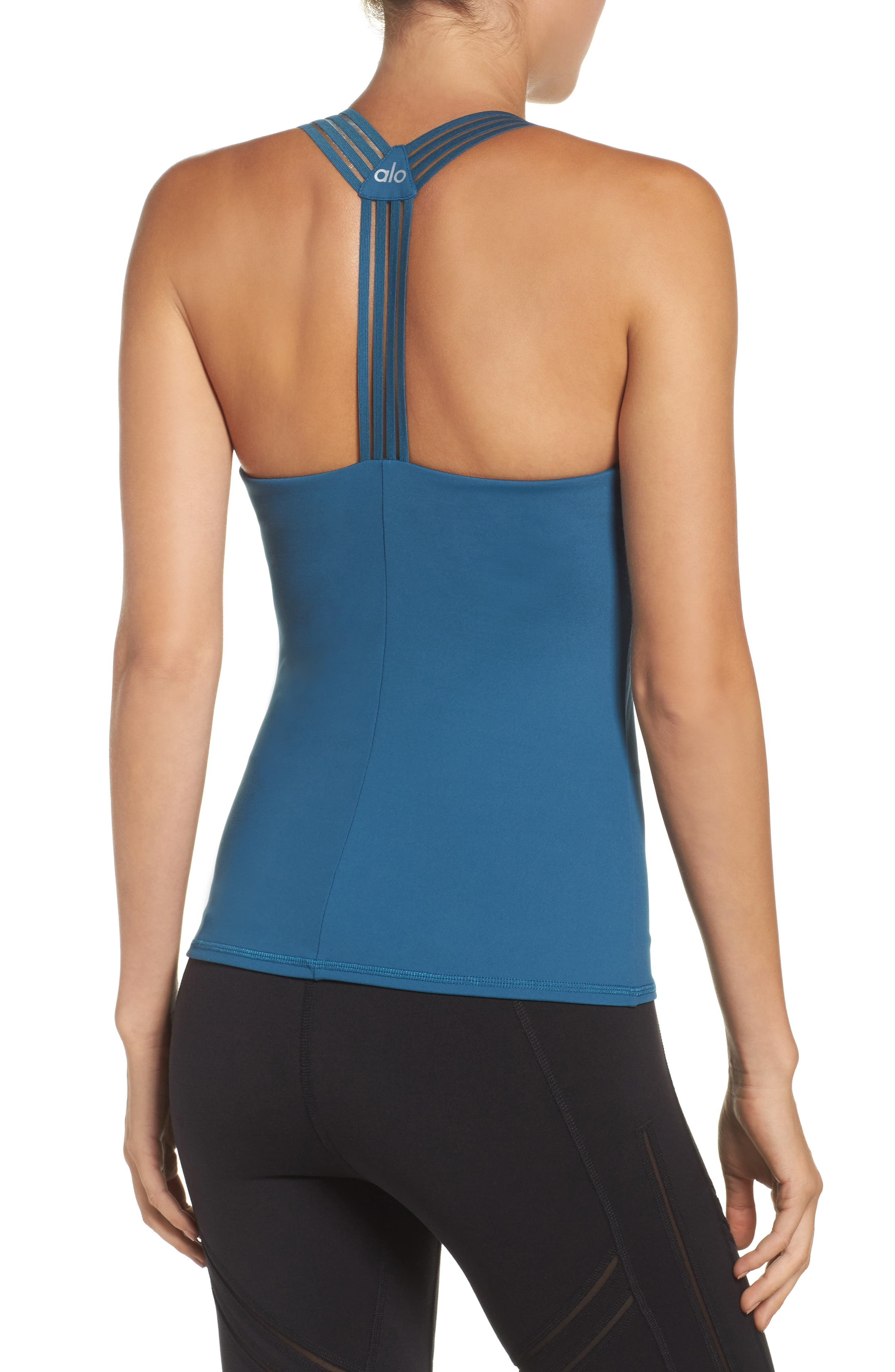 Escape Bra Tank,                             Alternate thumbnail 3, color,                             Legion Blue