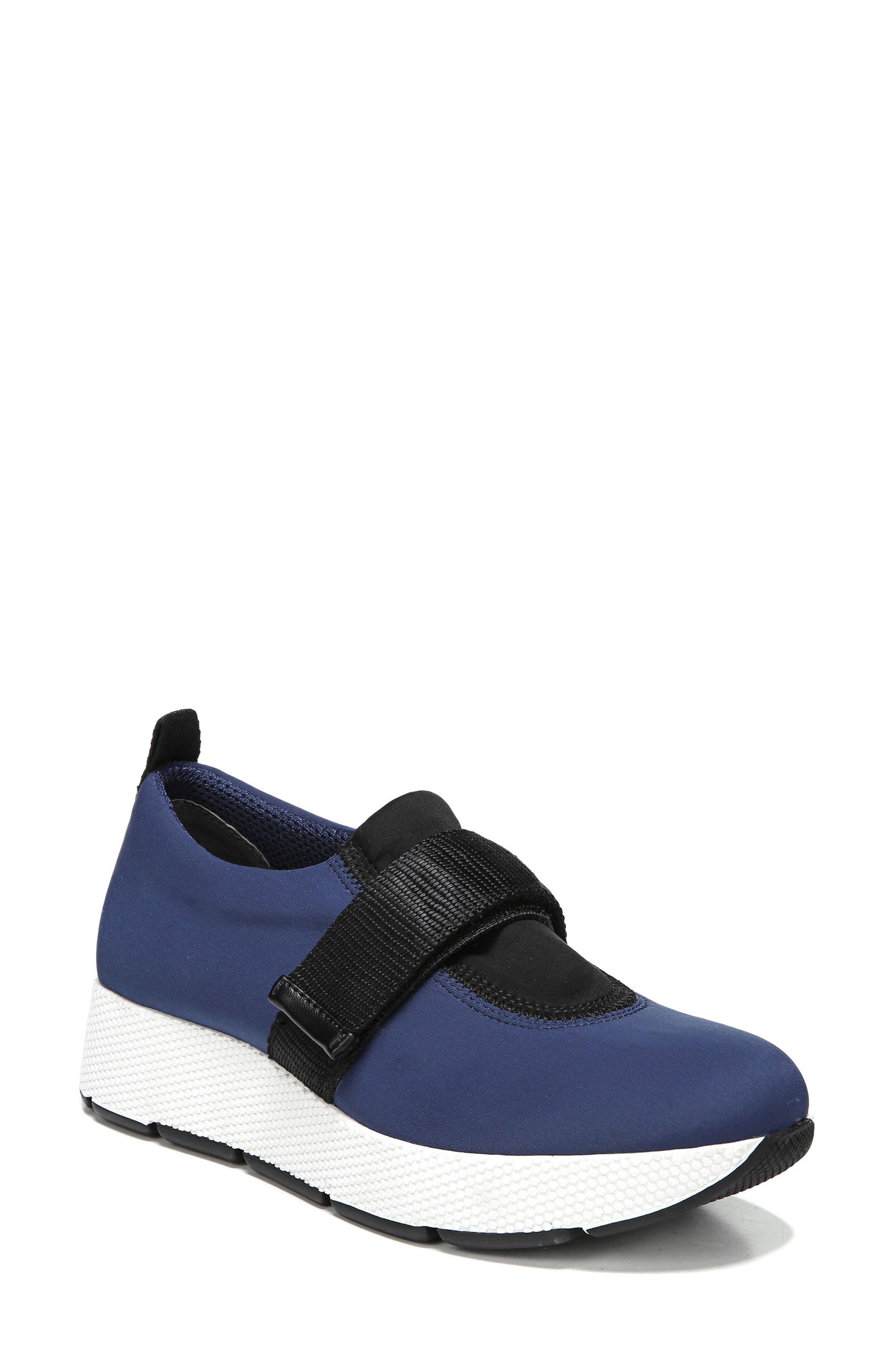 Odella Slip-On Sneaker,                         Main,                         color, Navy Fabric