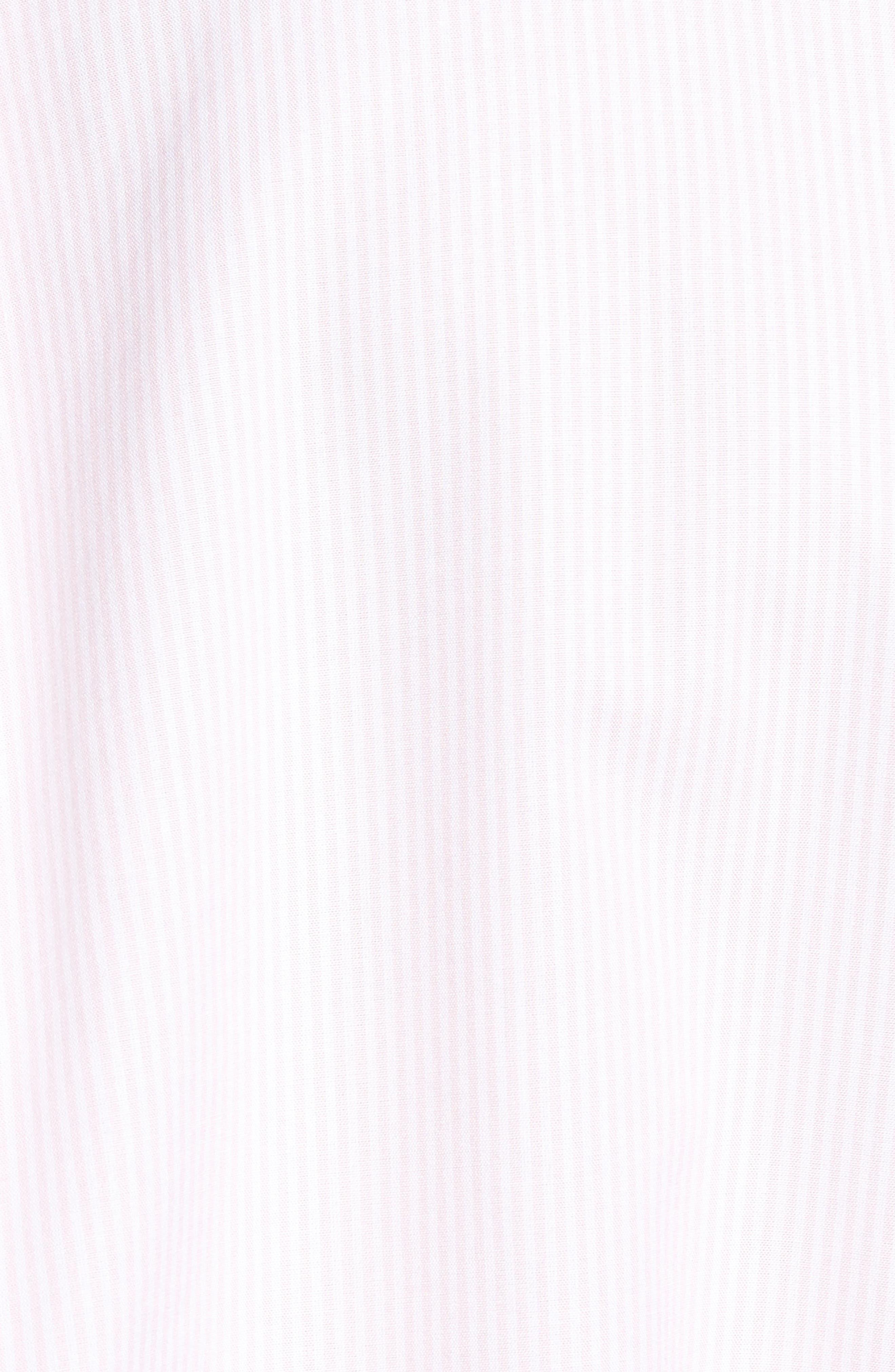 Alternate Image 5  - vineyard vines Seabird Stripe Tucker Slim Fit Sport Shirt