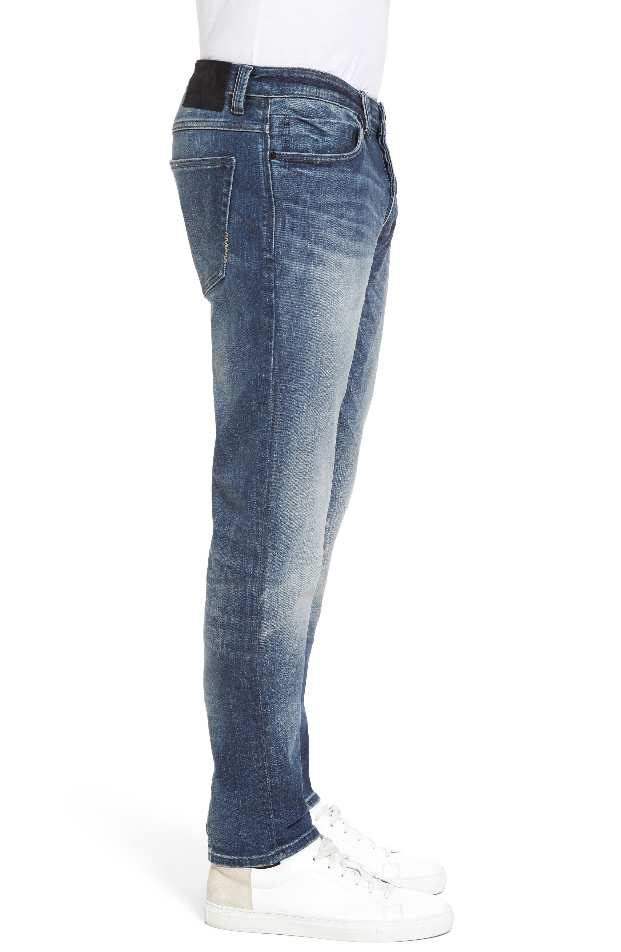 Alternate Image 3  - NEUW Lou Slim Fit Jeans (Biker Wash)