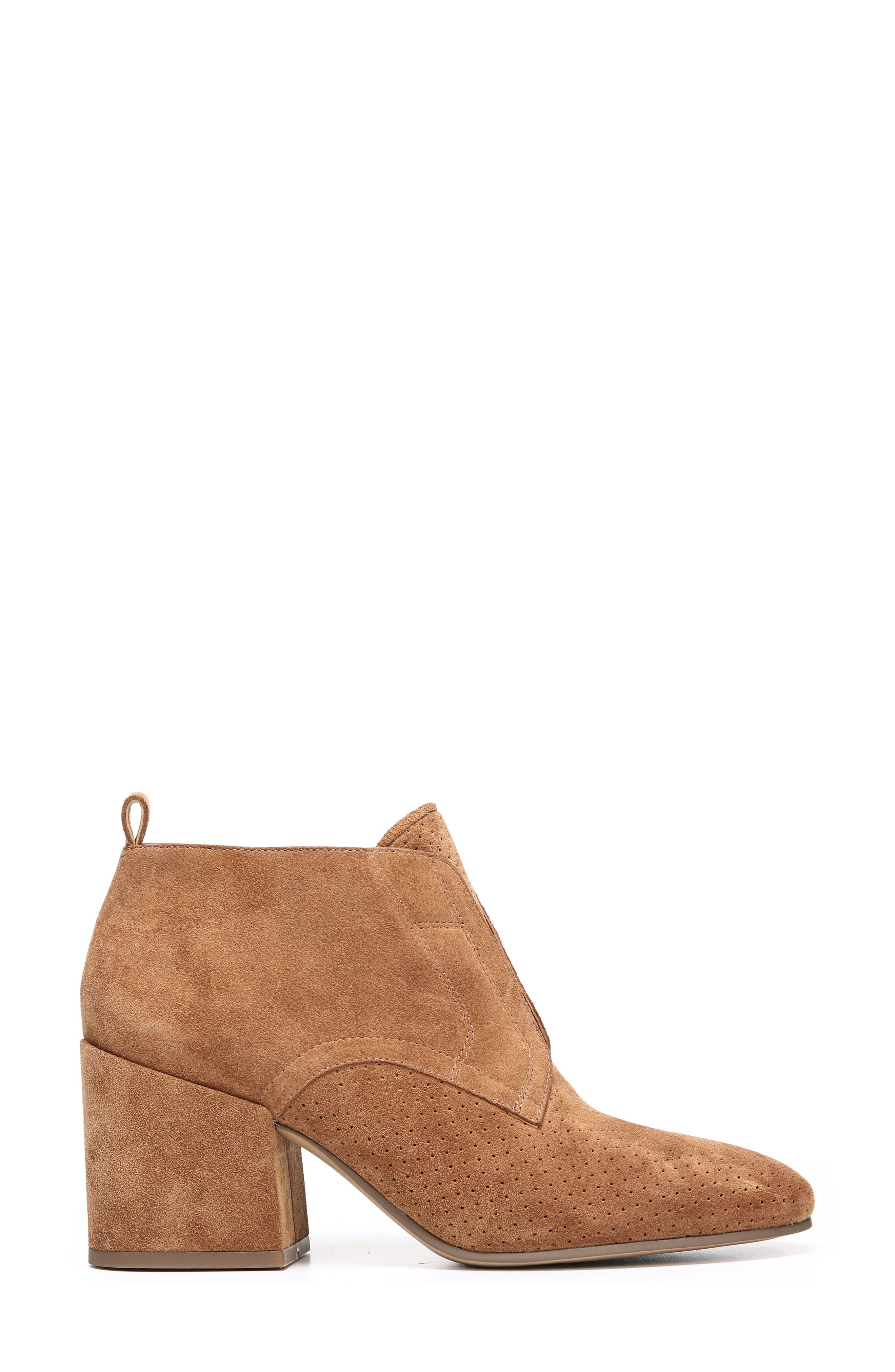 Alfie Bootie,                             Alternate thumbnail 3, color,                             Whiskey Suede