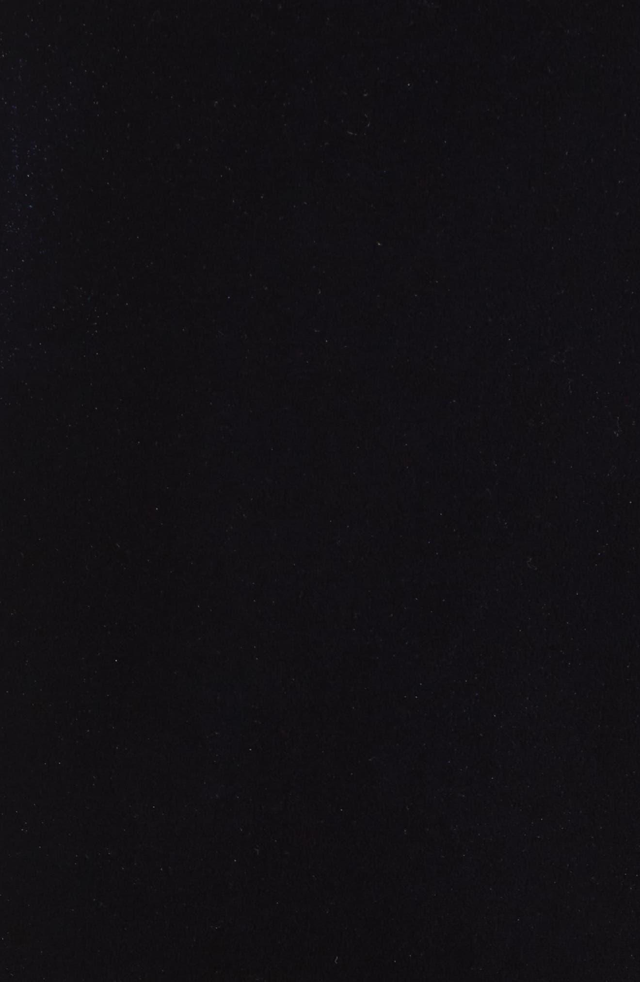 Vista Velvet Midi Dress,                             Alternate thumbnail 5, color,                             Dark Navy