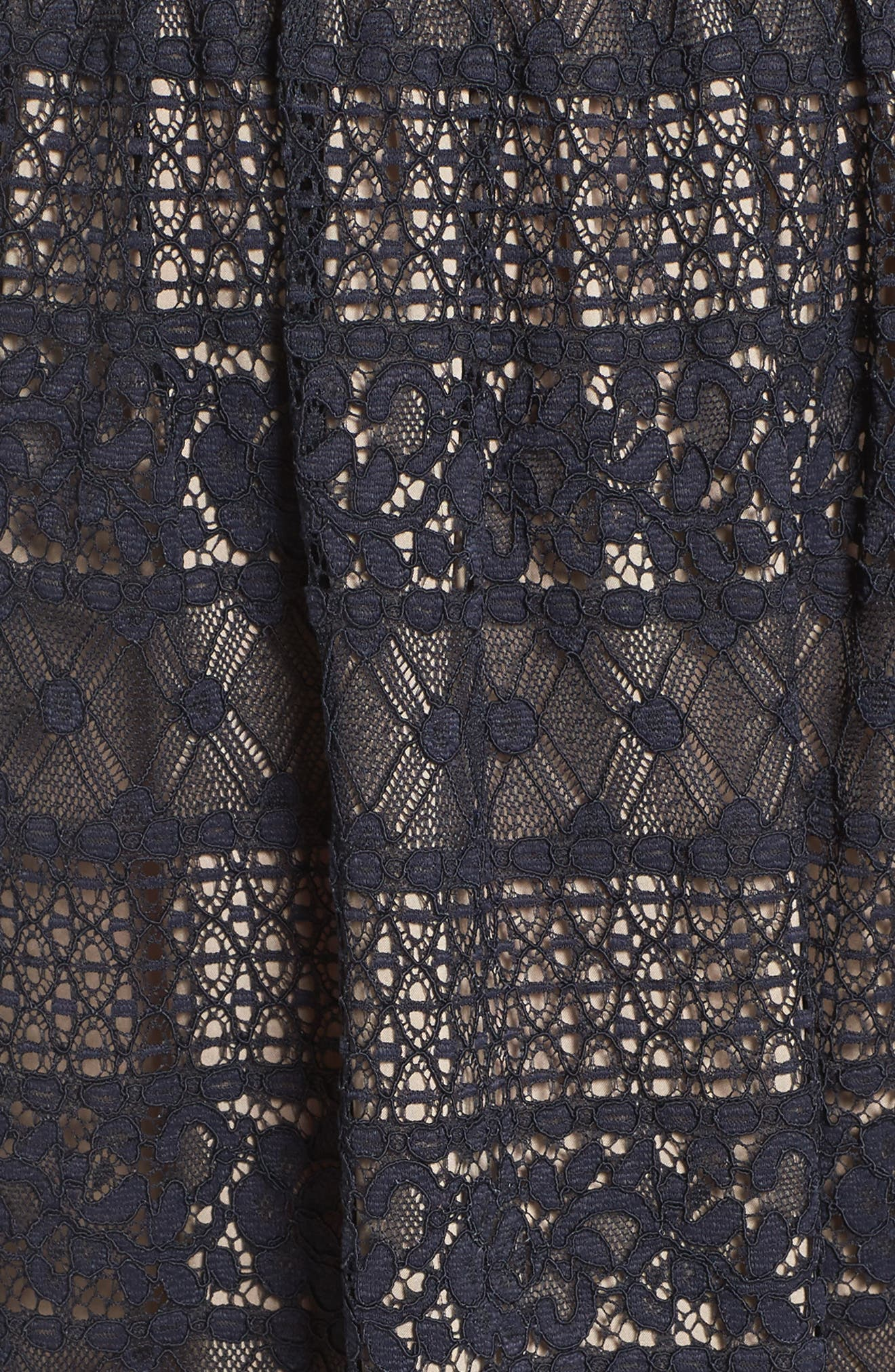 Alternate Image 5  - Maggy London Lace Midi Dress (Regular & Petite)