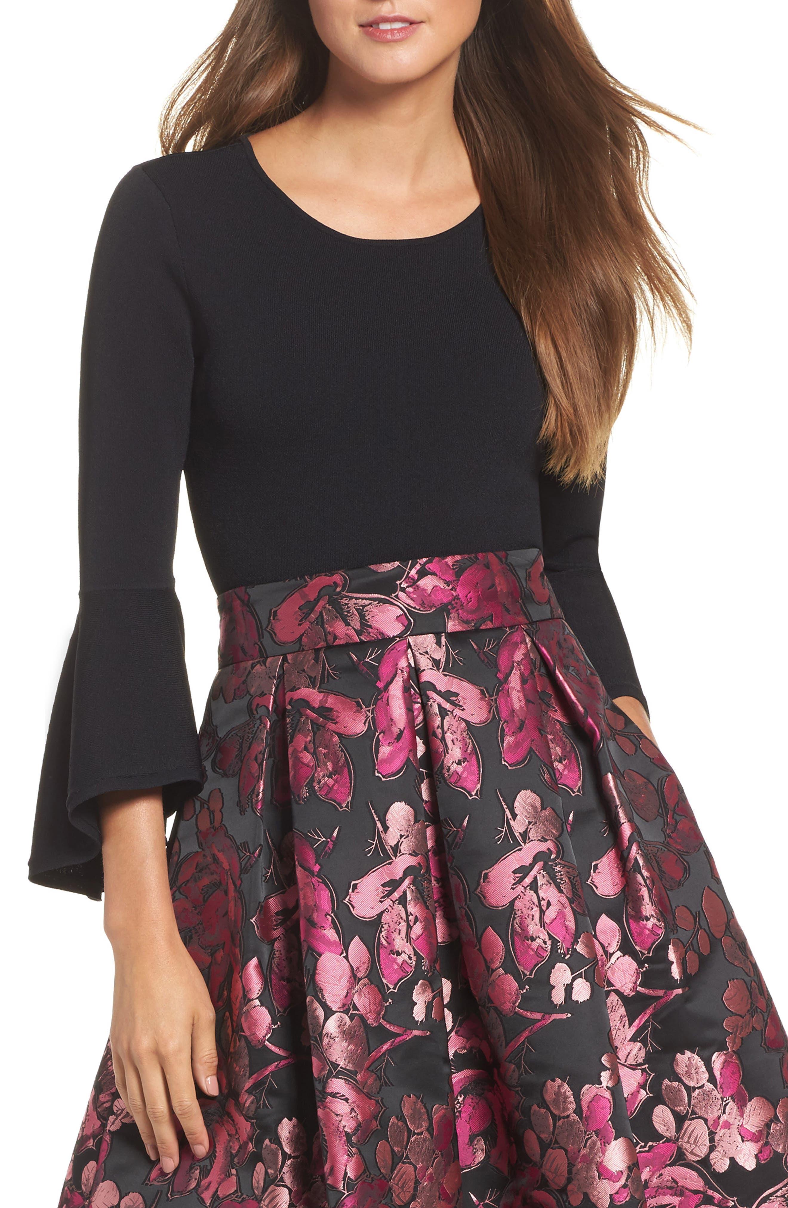 Eliza J Bell Sleeve Sweater