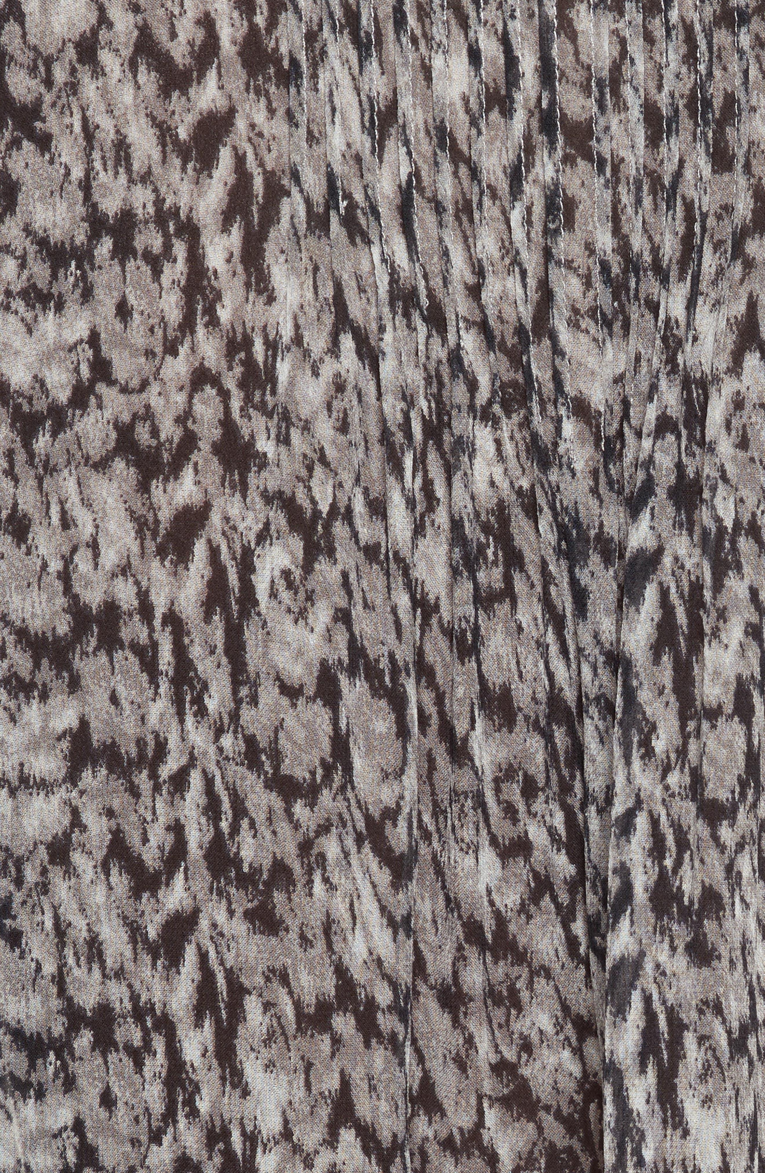 Alternate Image 5  - Joie Suzetta Print Silk Top