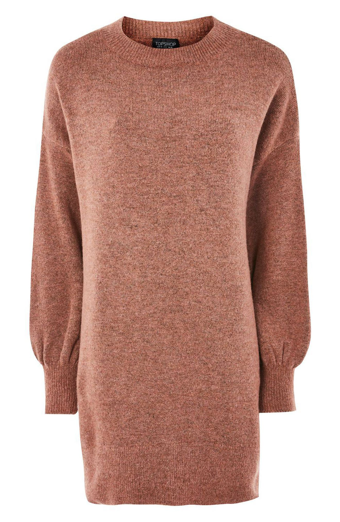 Alternate Image 4  - Topshop Sweater Dress