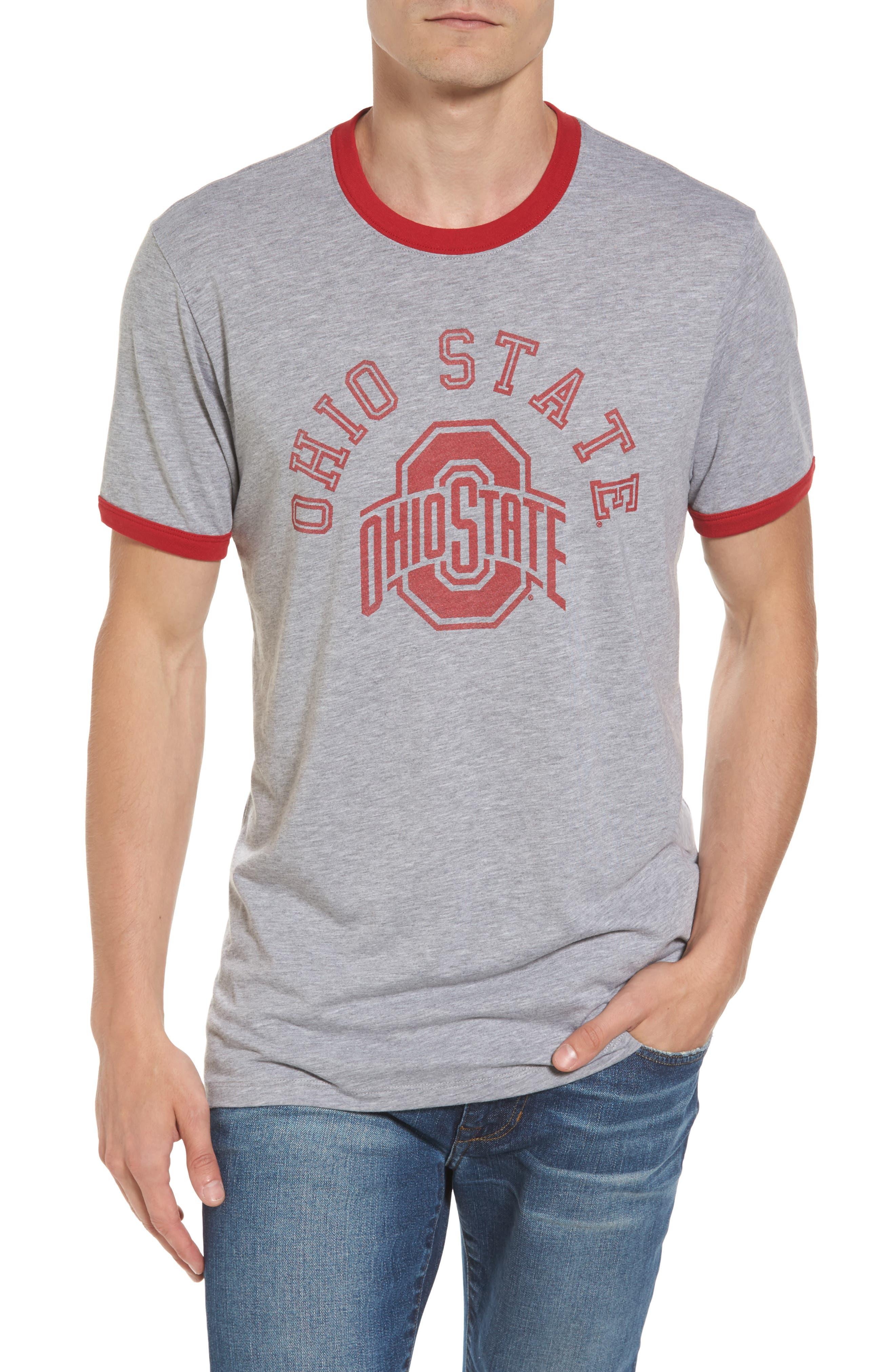 47 47 Brand Ohio State Buckeyes Ringer T-Shirt