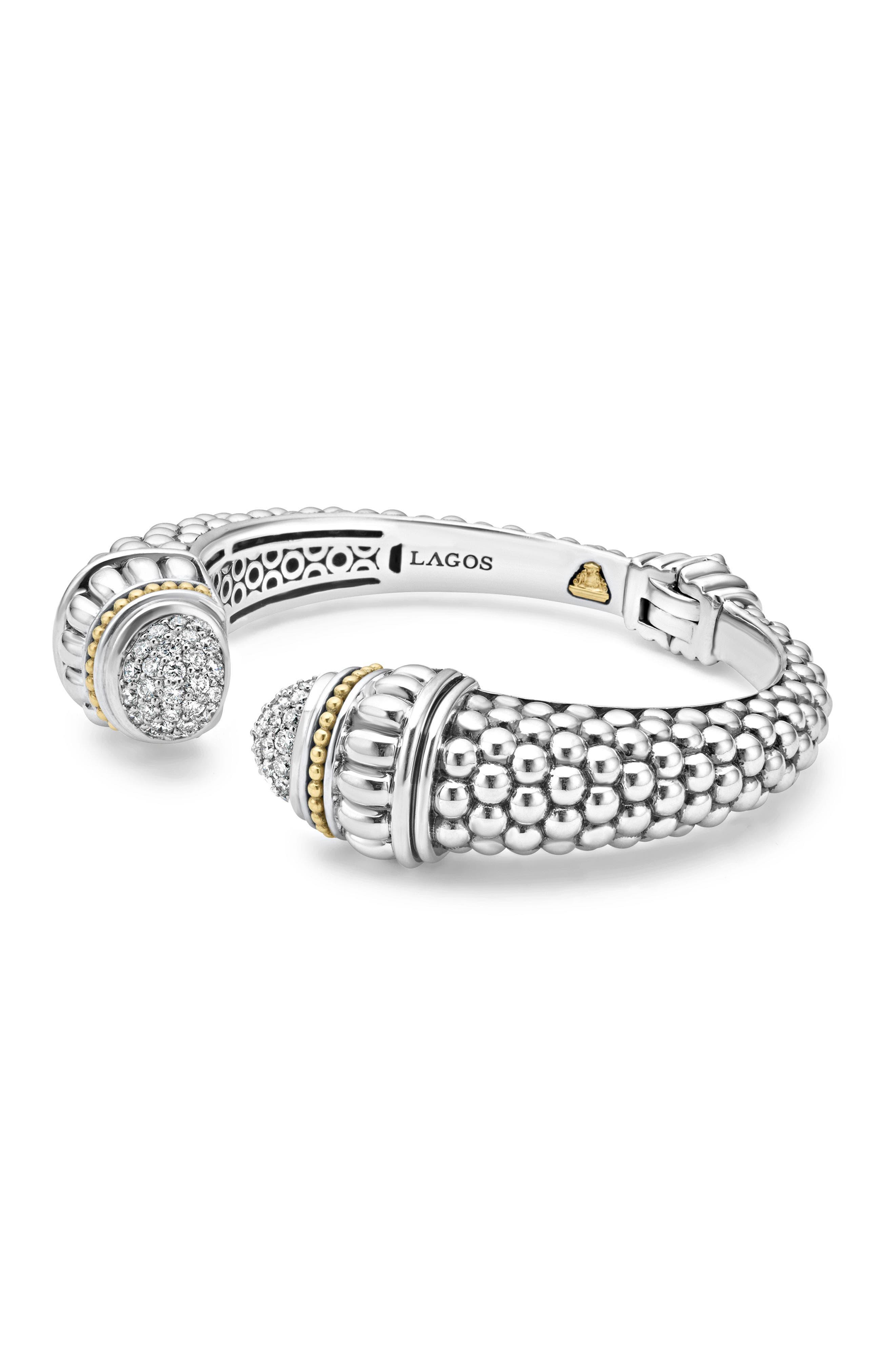 Alternate Image 4  - LAGOS Caviar Diamond Hinge Cuff