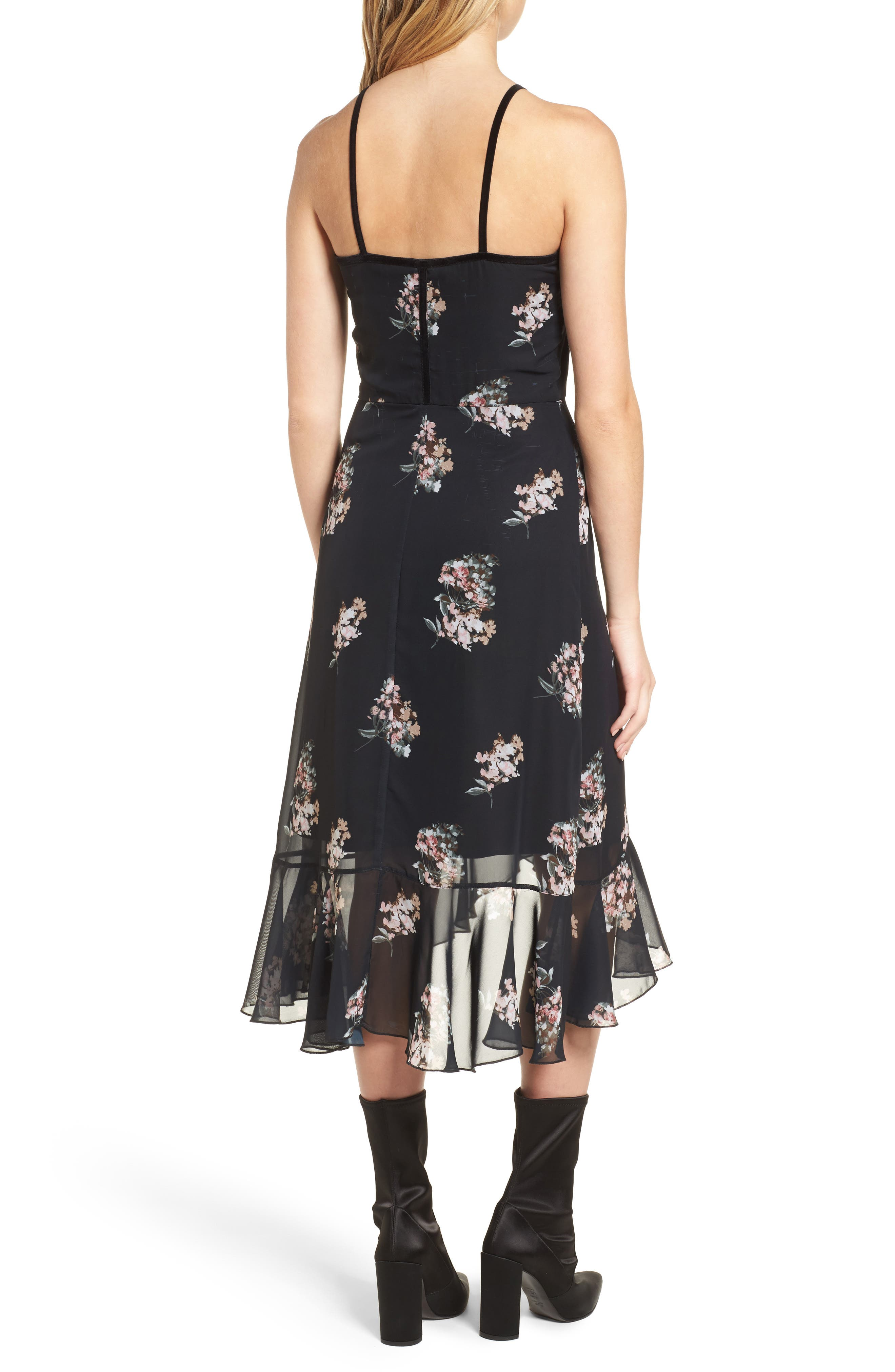 Alternate Image 2  - Leith Floral Corset Dress