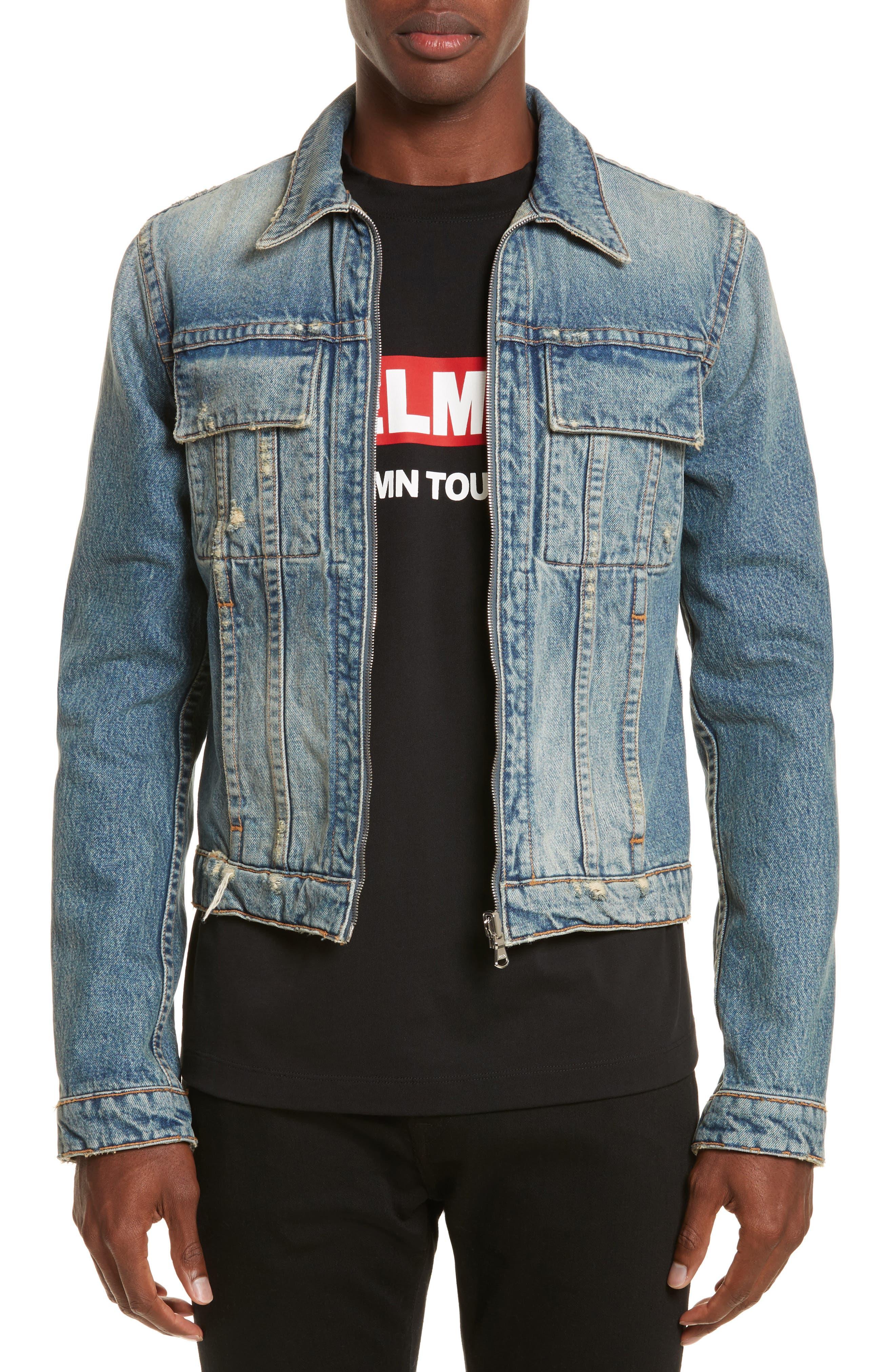 Alternate Image 1 Selected - Helmut Lang Reversible 87 Denim Jacket