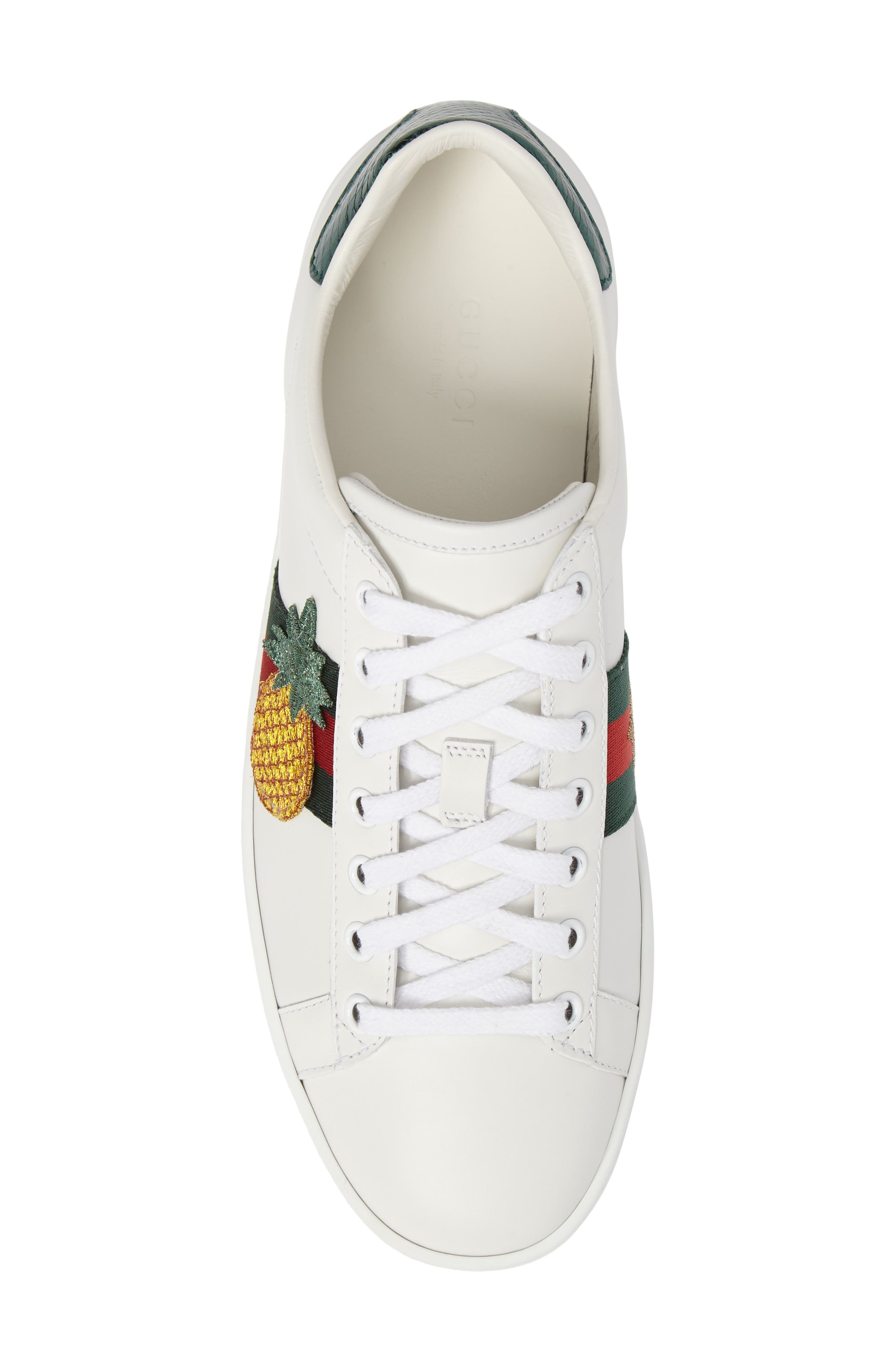 Alternate Image 5  - Gucci New Ace Pineapple Sneaker (Women)