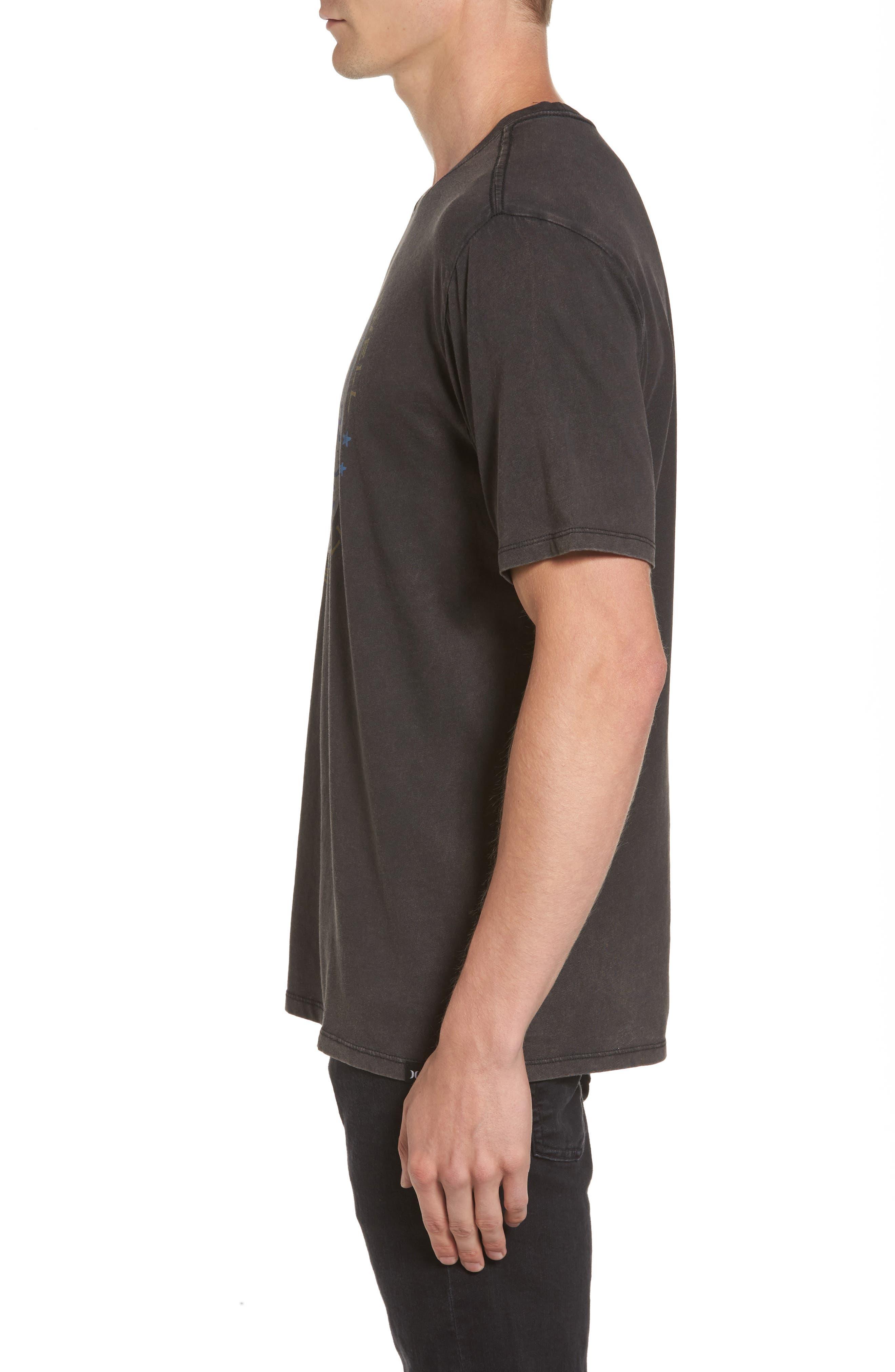 Respect the Swell T-Shirt,                             Alternate thumbnail 3, color,                             Black