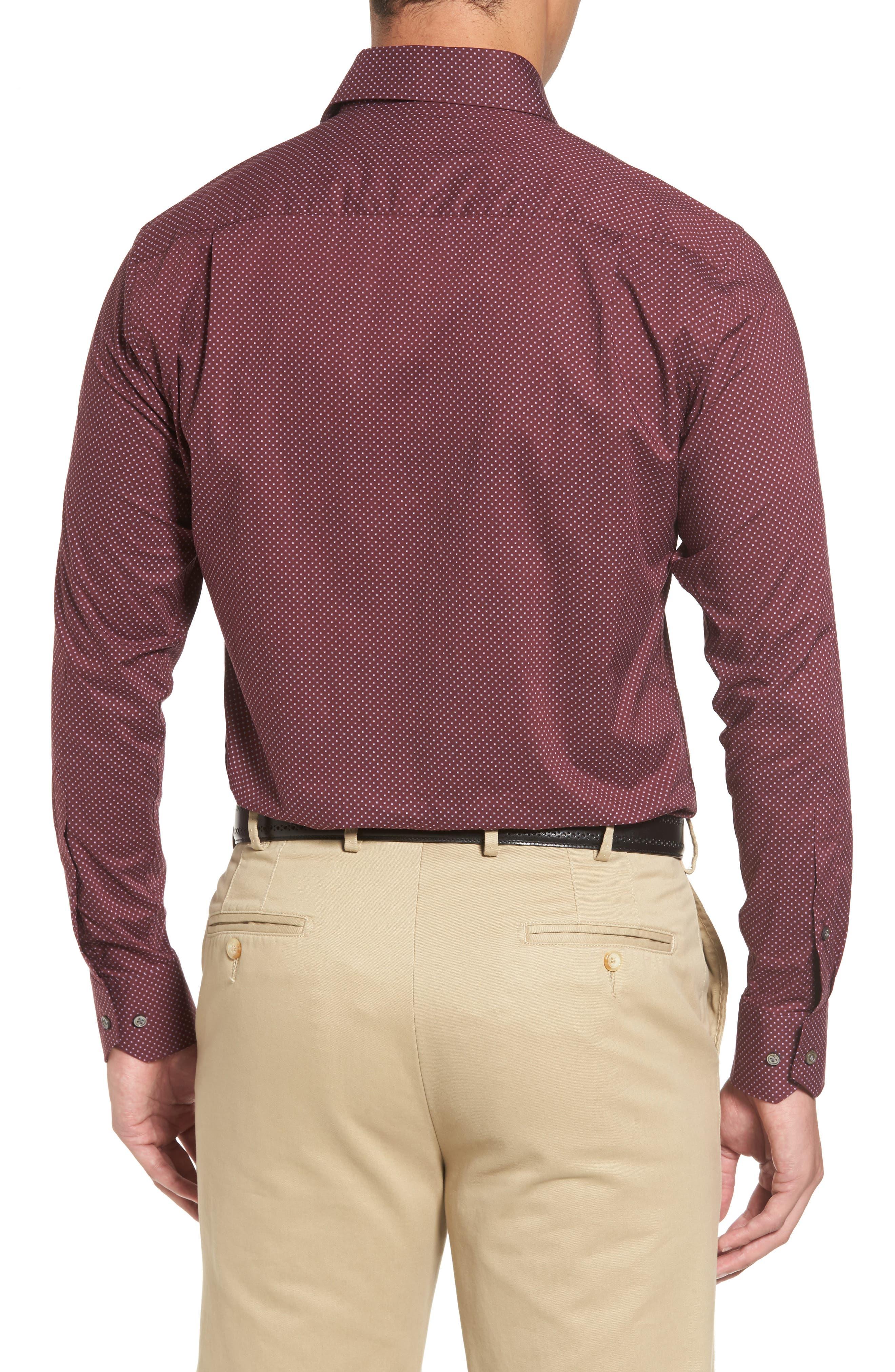 Alternate Image 2  - Peter Millar Woodland Fjord Regular Fit Print Sport Shirt