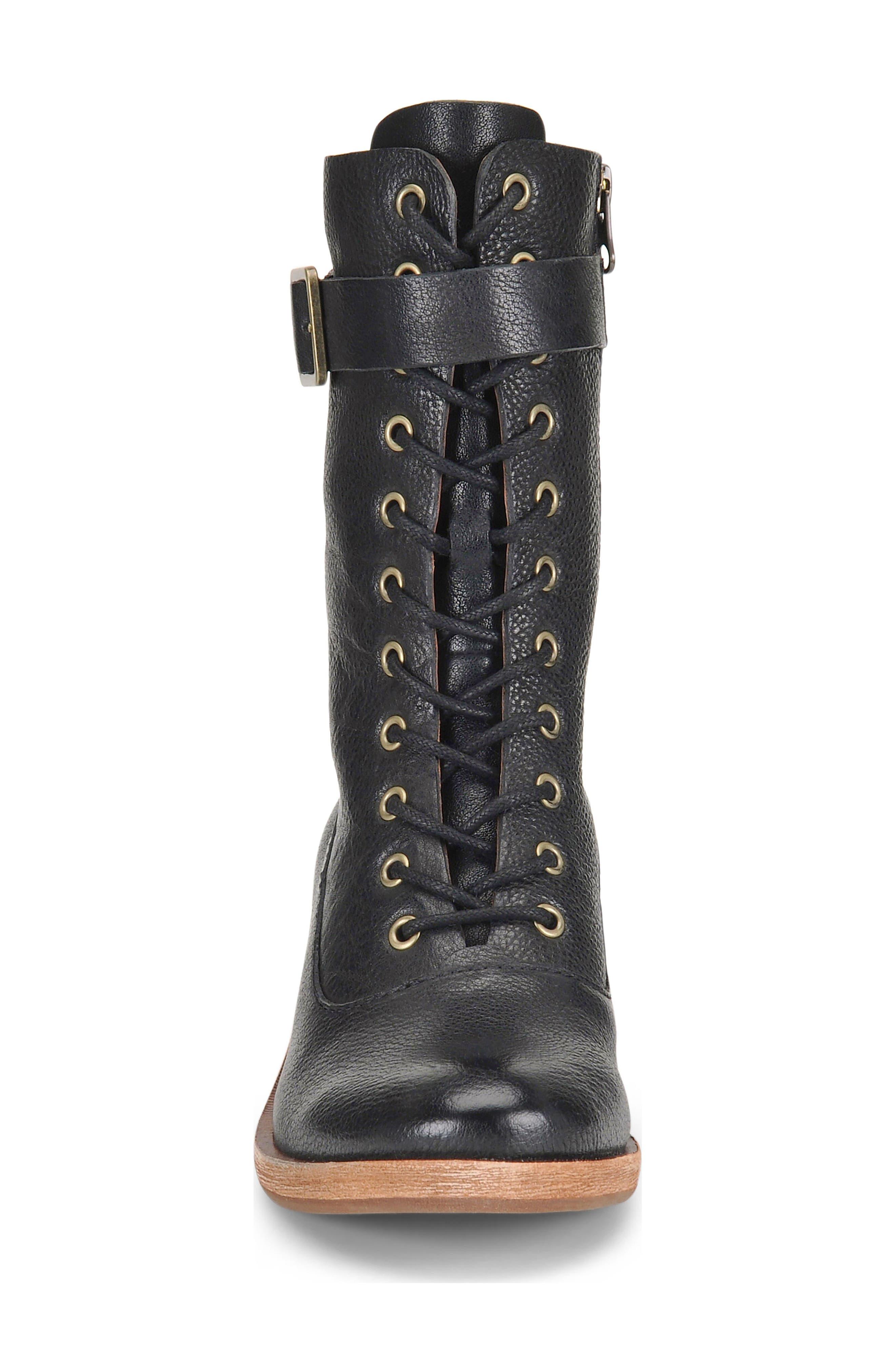 Alternate Image 4  - Kork-Ease® Mona Lace-Up Boot (Women)