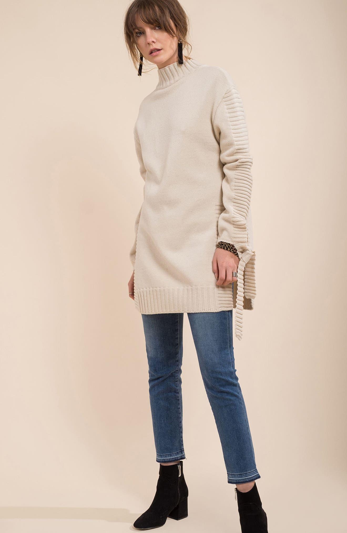 Alternate Image 2  - Moon River Side Slit Sweater