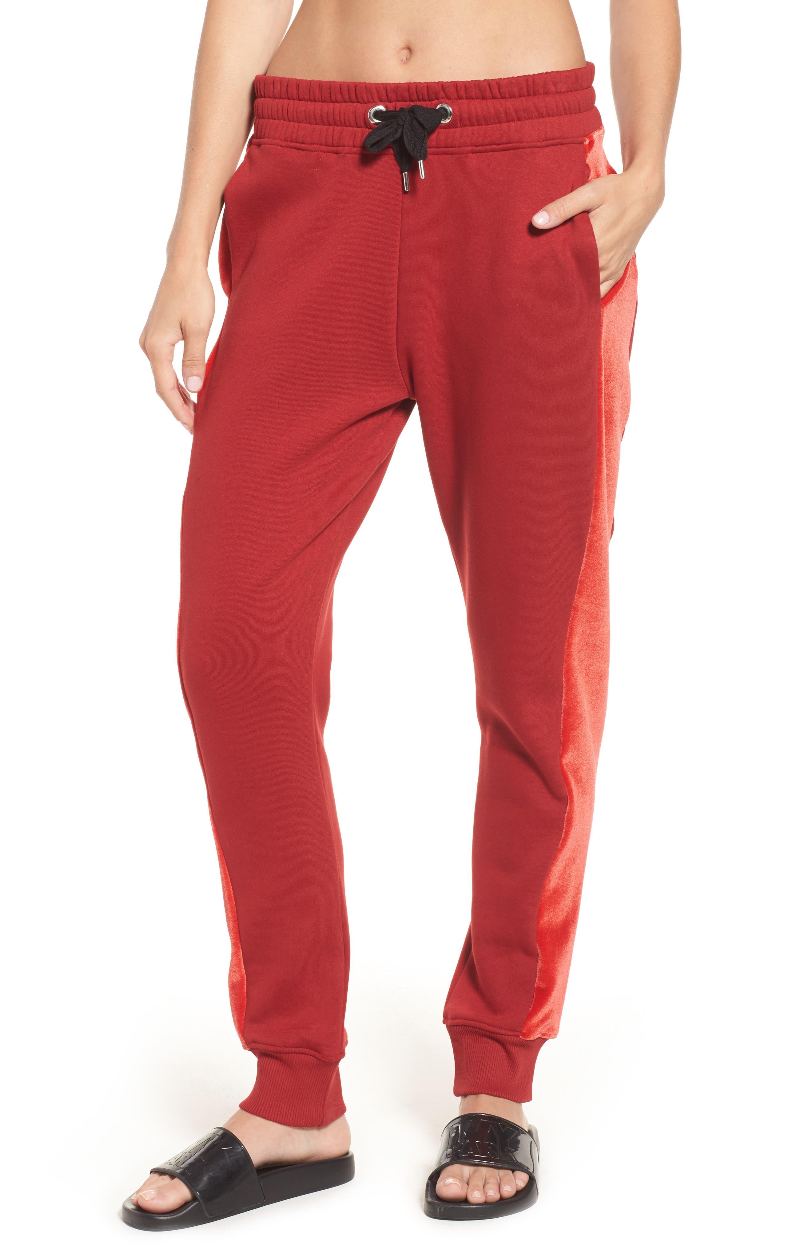 IVY PARK® Velvet Side Oversize Jogger Pants