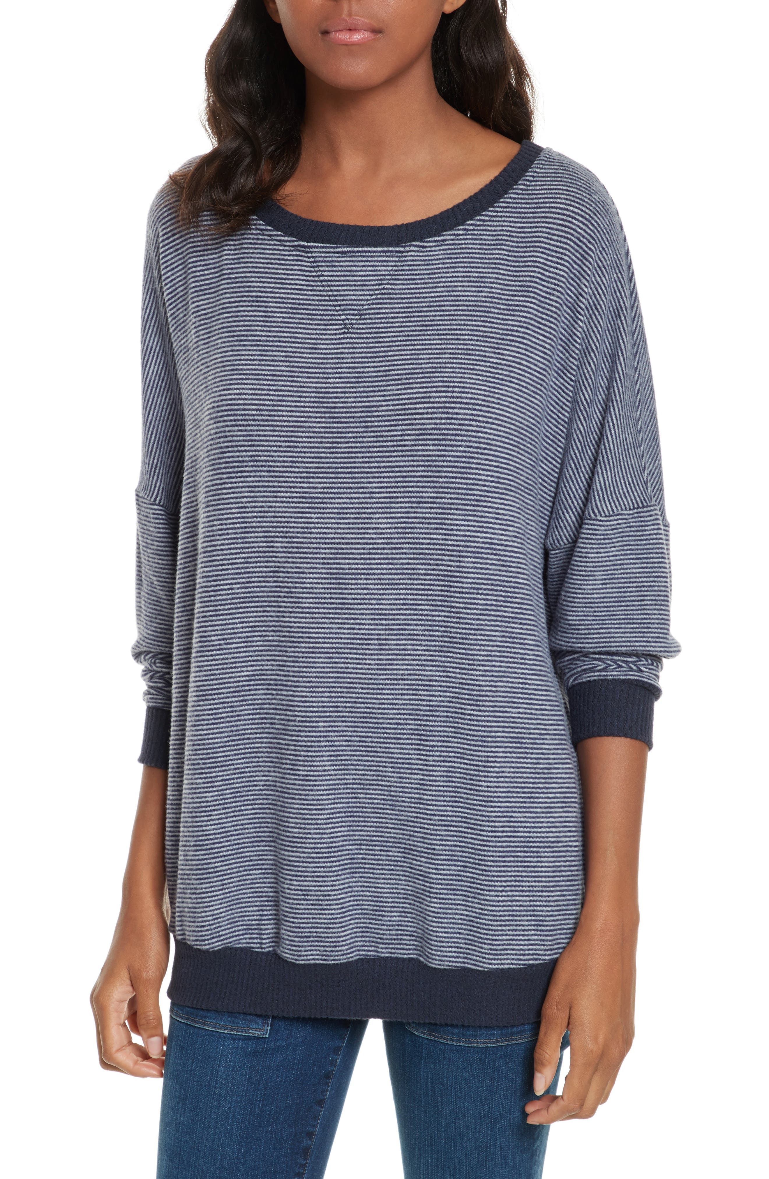 Alternate Image 1 Selected - Joie Striped Sweatshirt