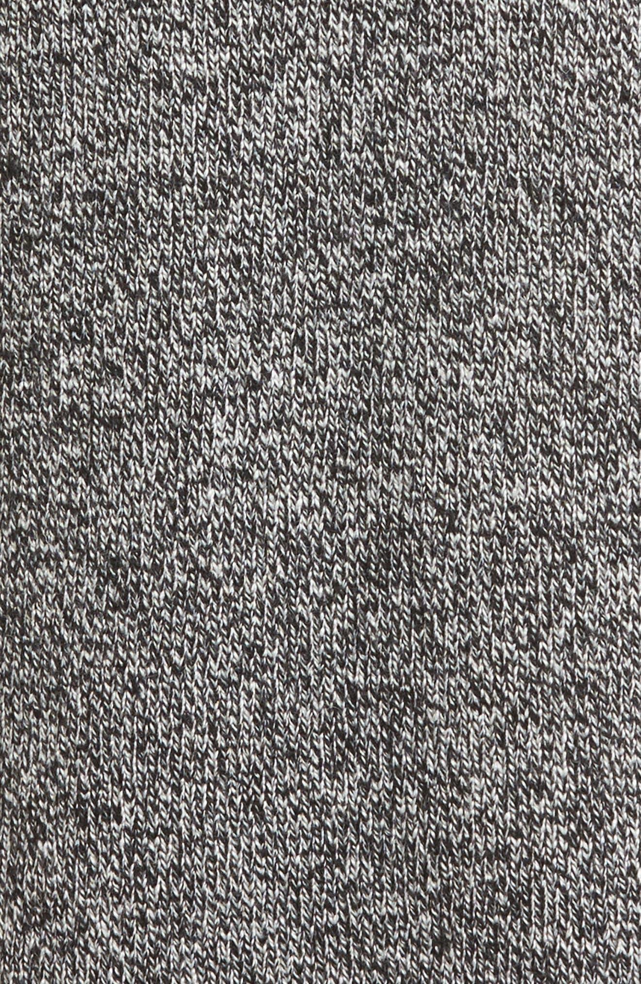 Side Slit Sweater,                             Alternate thumbnail 5, color,                             Charcoal