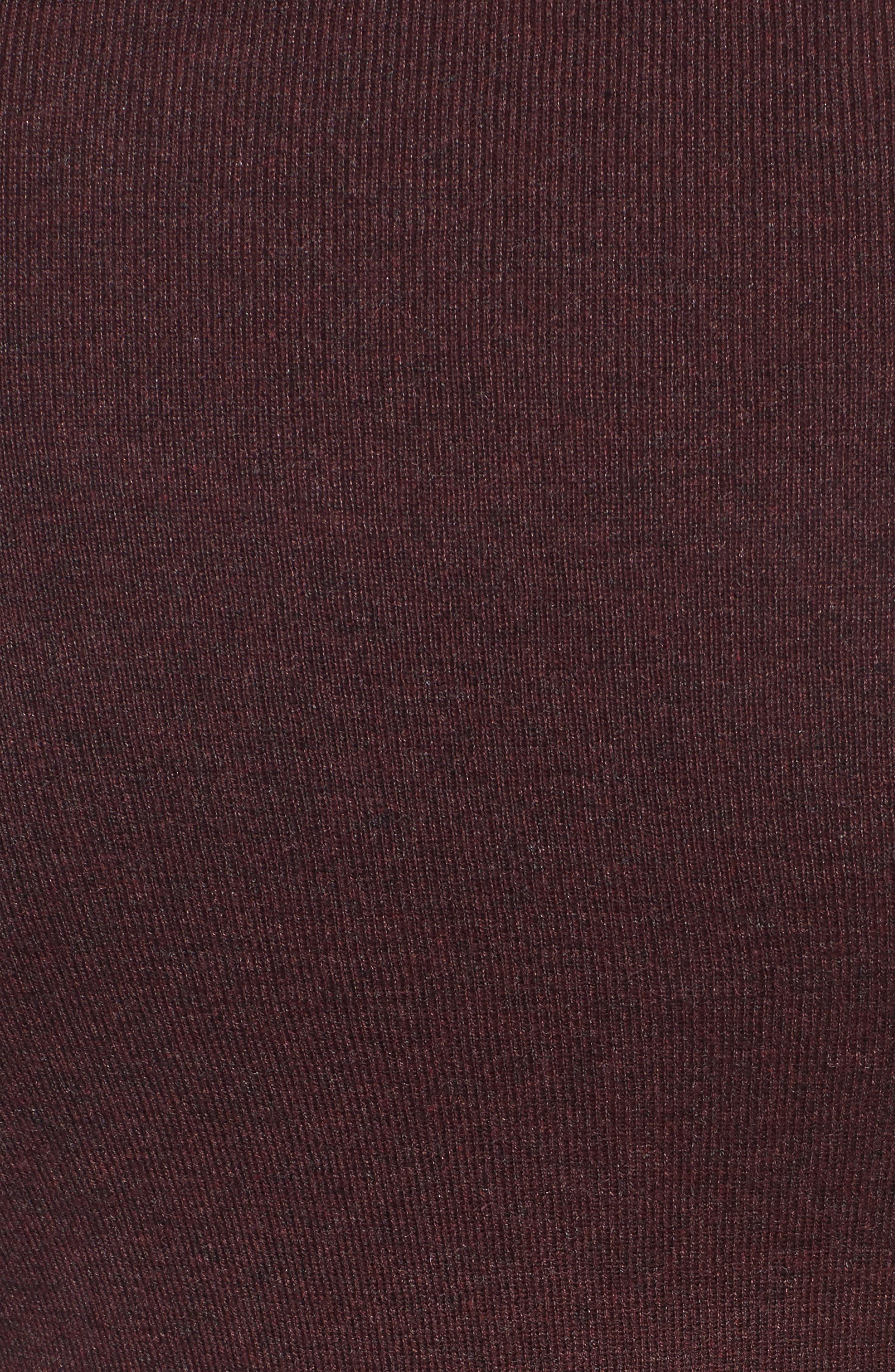 4-Way Convertible Cardigan,                             Alternate thumbnail 5, color,                             Wine