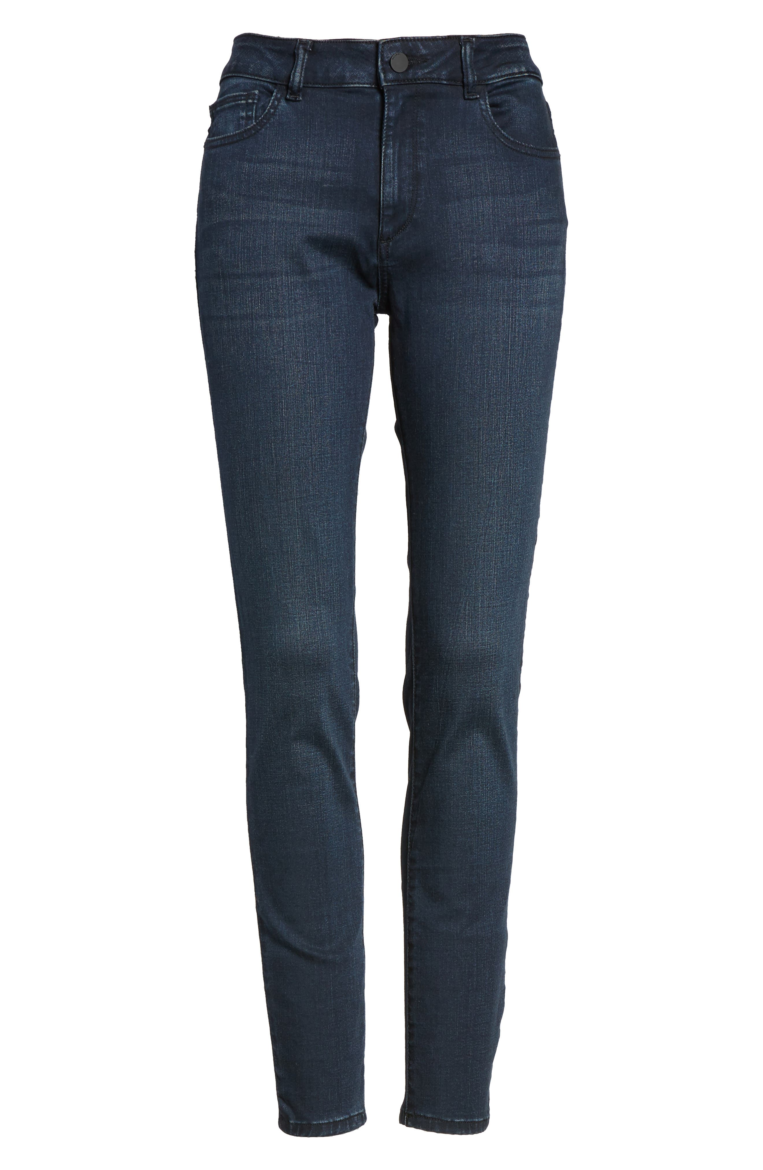 Farrow High Waist Instaslim Skinny Jeans,                             Alternate thumbnail 6, color,                             Equinox