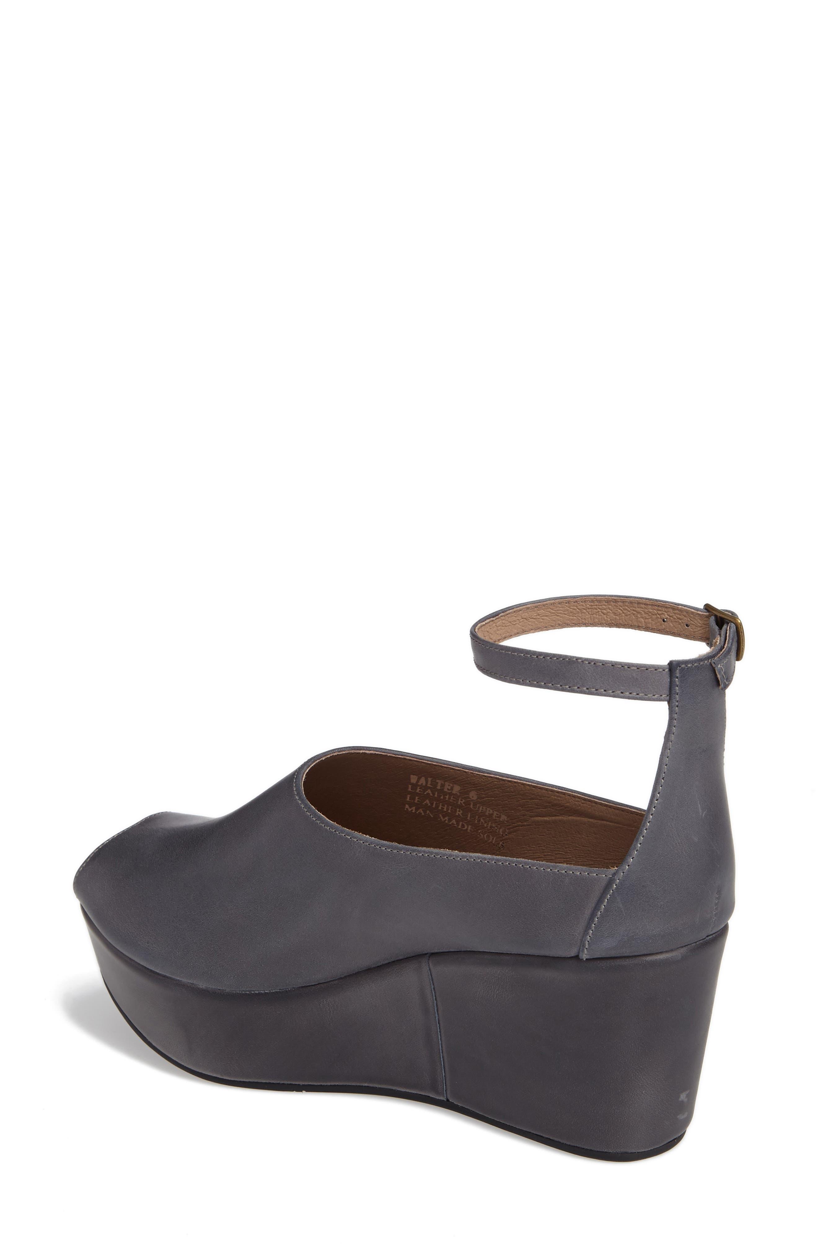Alternate Image 2  - Chocolat Blu Walter Ankle Strap Wedge Sandal (Women)