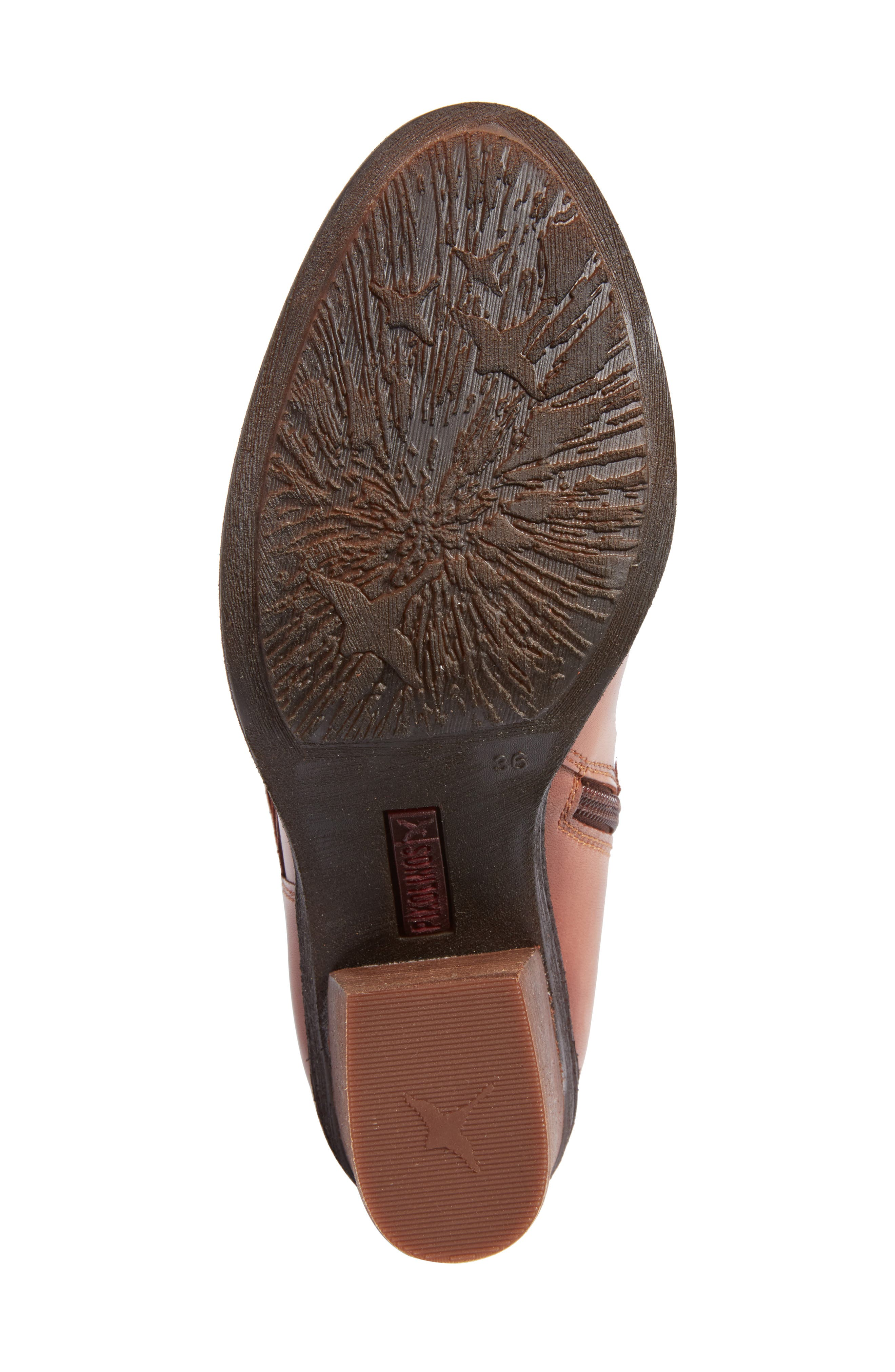 Alicante Bootie,                             Alternate thumbnail 6, color,                             Cuero Leather
