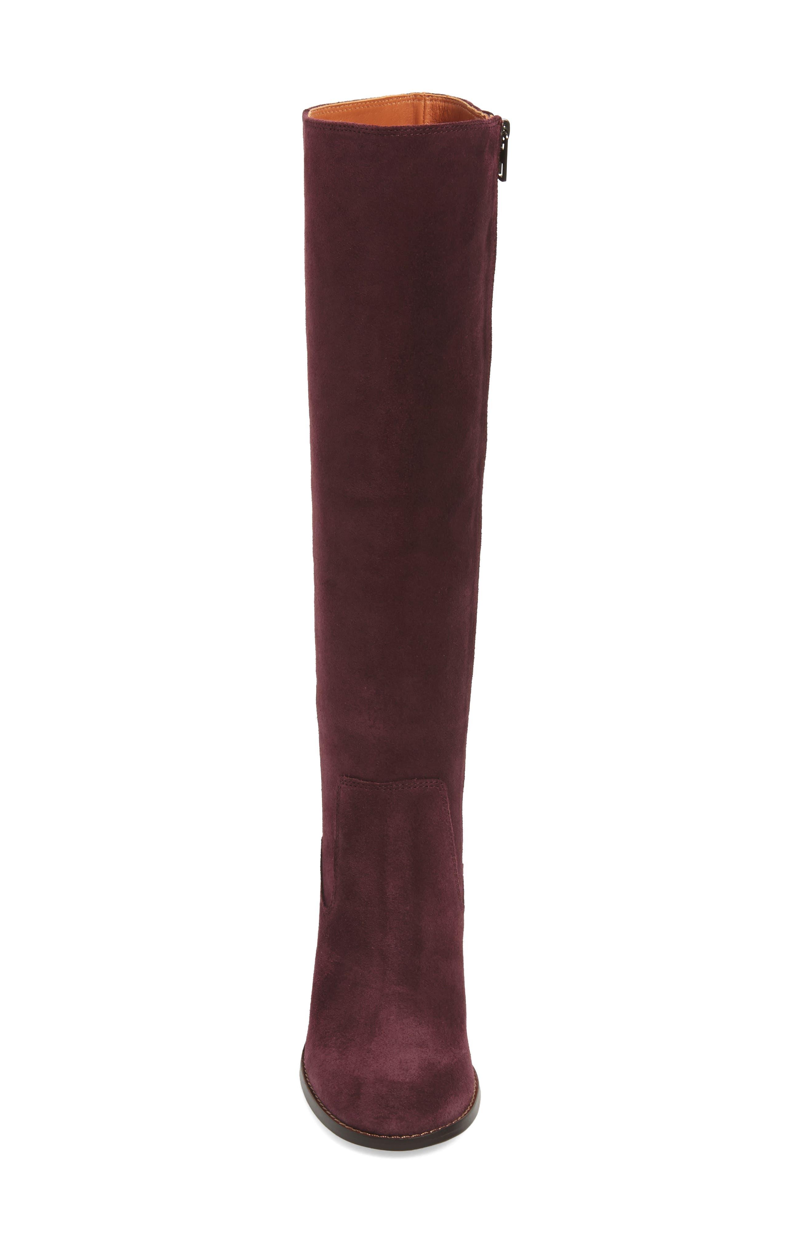 Alternate Image 4  - COACH Ombré Knee High Boot (Women)