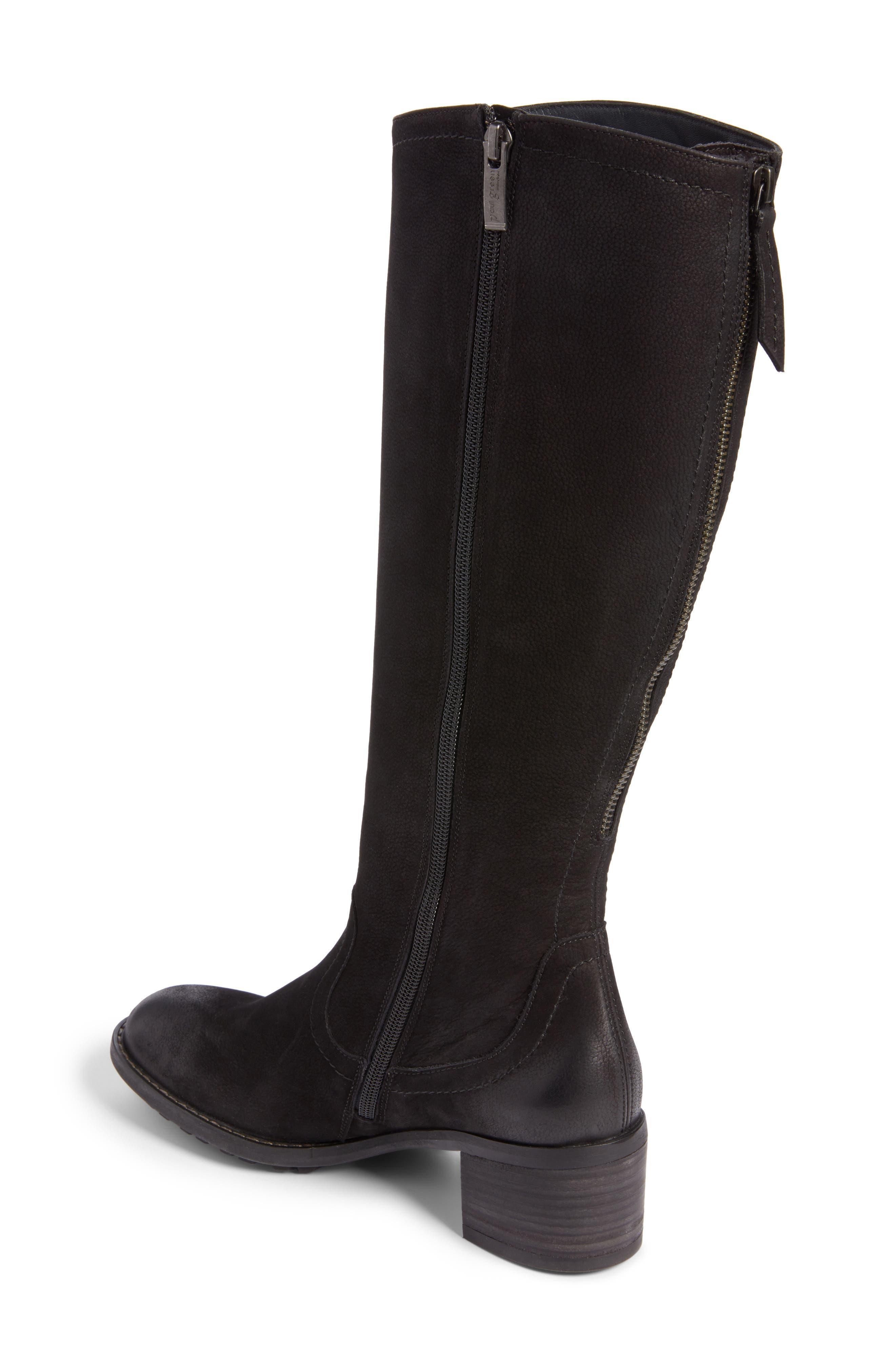 Kendal Boot,                             Alternate thumbnail 2, color,                             Black Nubuck Leather