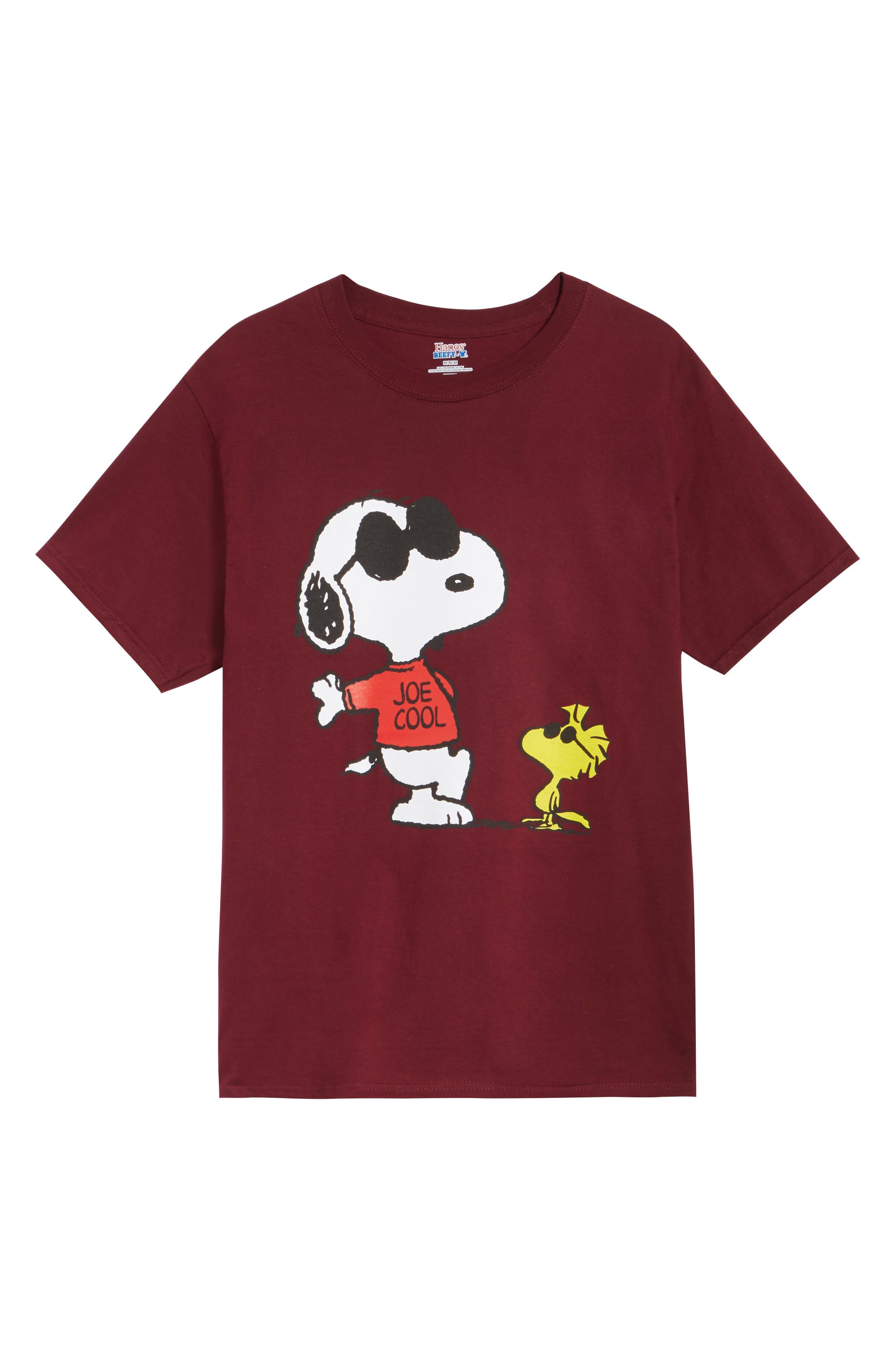 HANES Peanuts Joe Cool T-Shirt