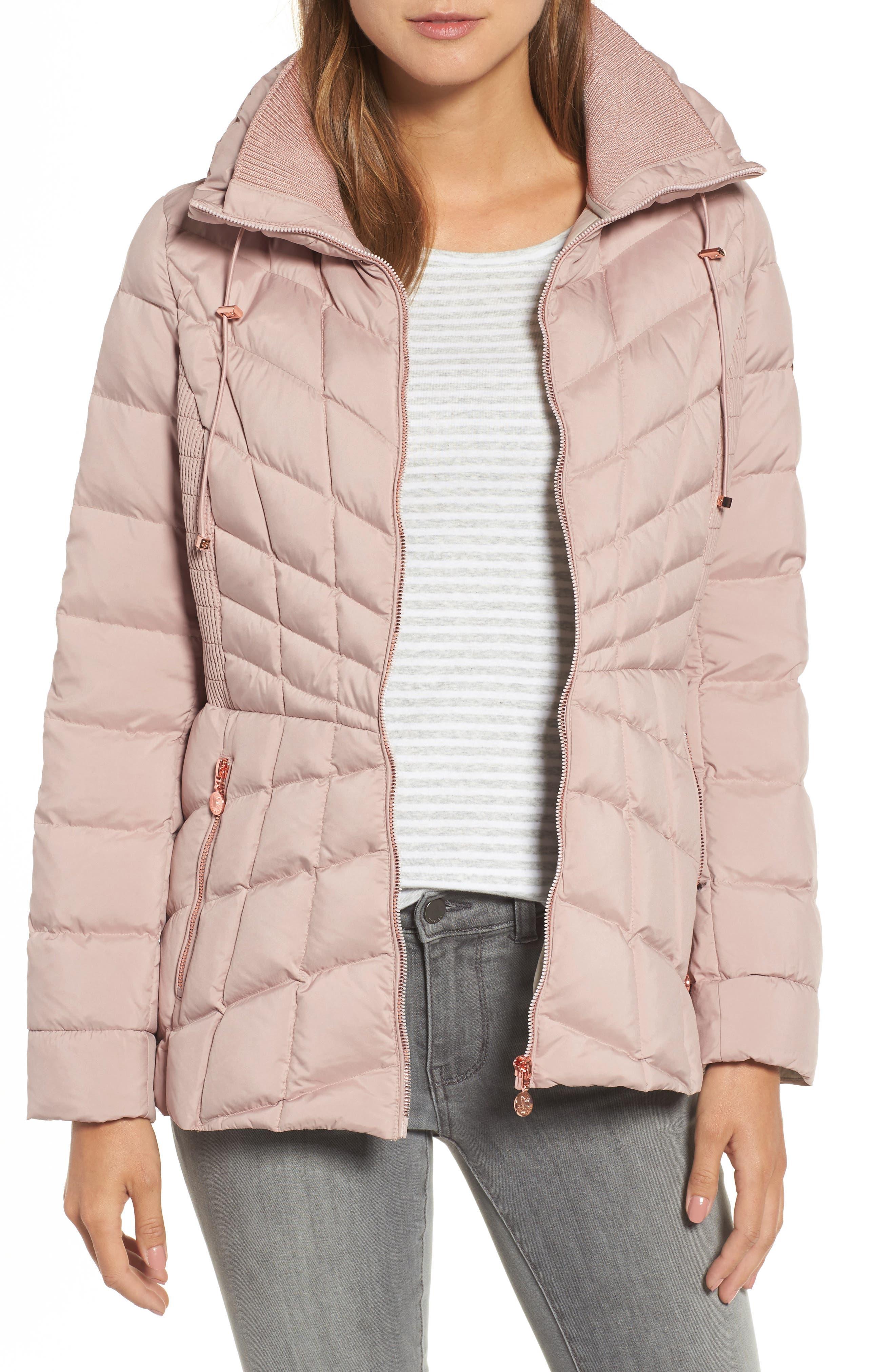 Alternate Image 1 Selected - Bernardo Packable Down & PrimaLoft® Coat (Regular & Petite)