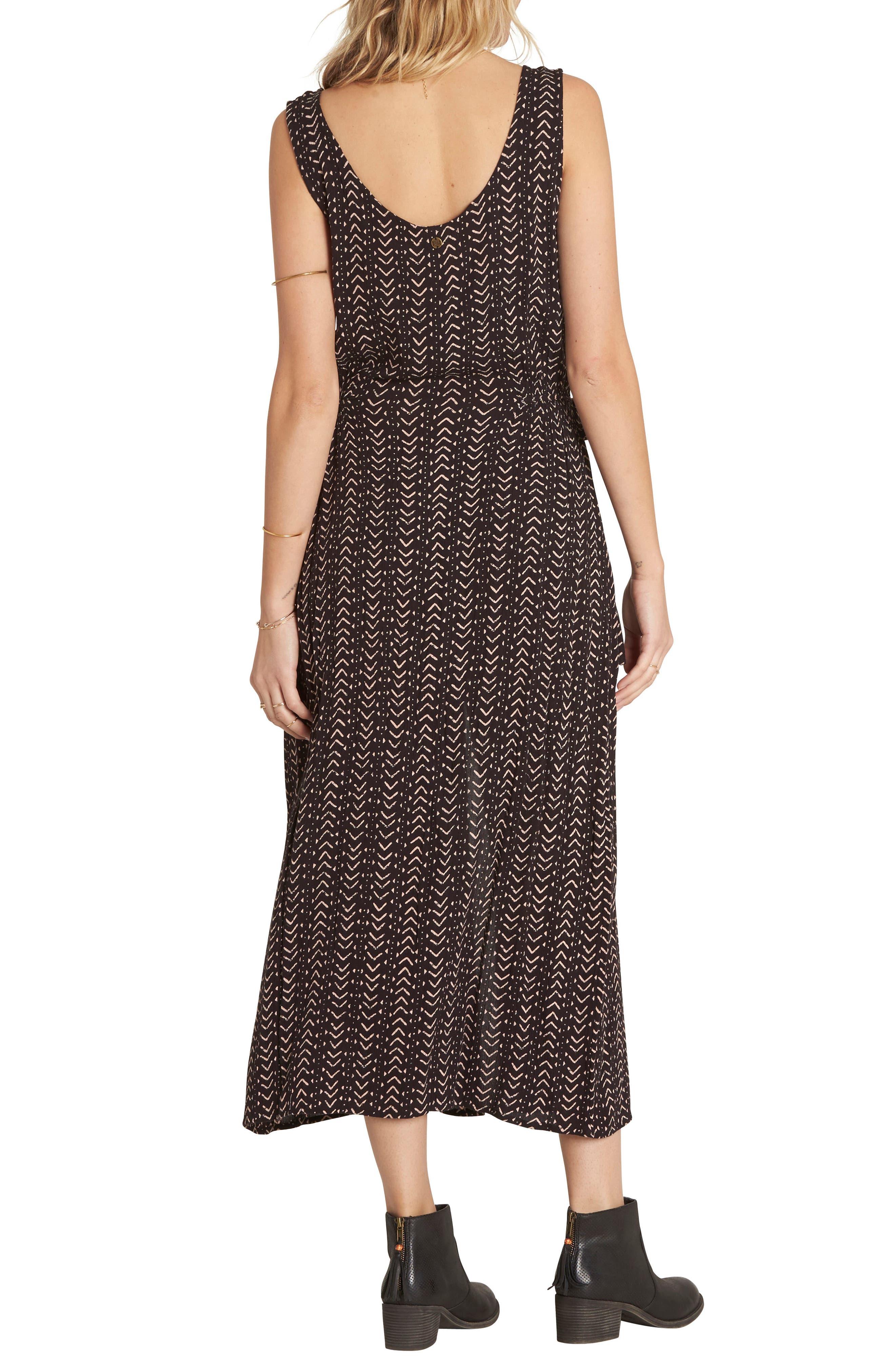Alternate Image 2  - Billabong Desert Dreams Print Midi Dress