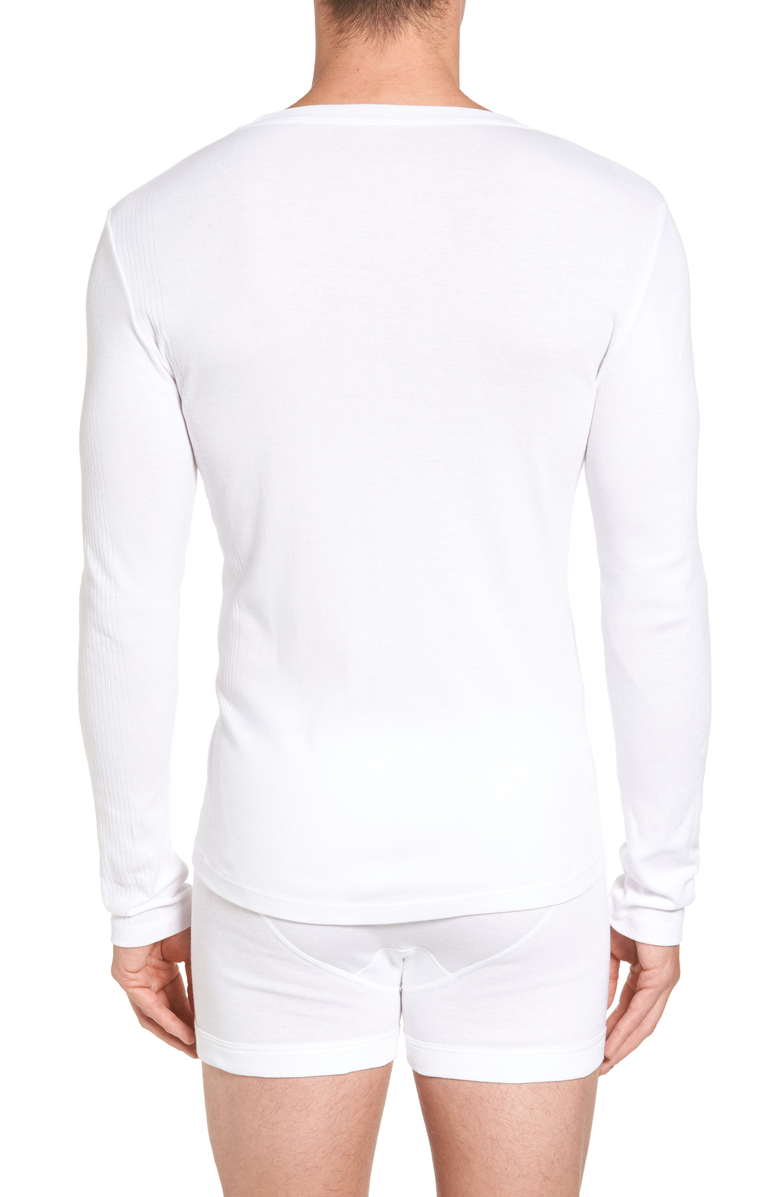 Concept Luxury 3-Pack Long Sleeve T-Shirt,                             Alternate thumbnail 3, color,                             White