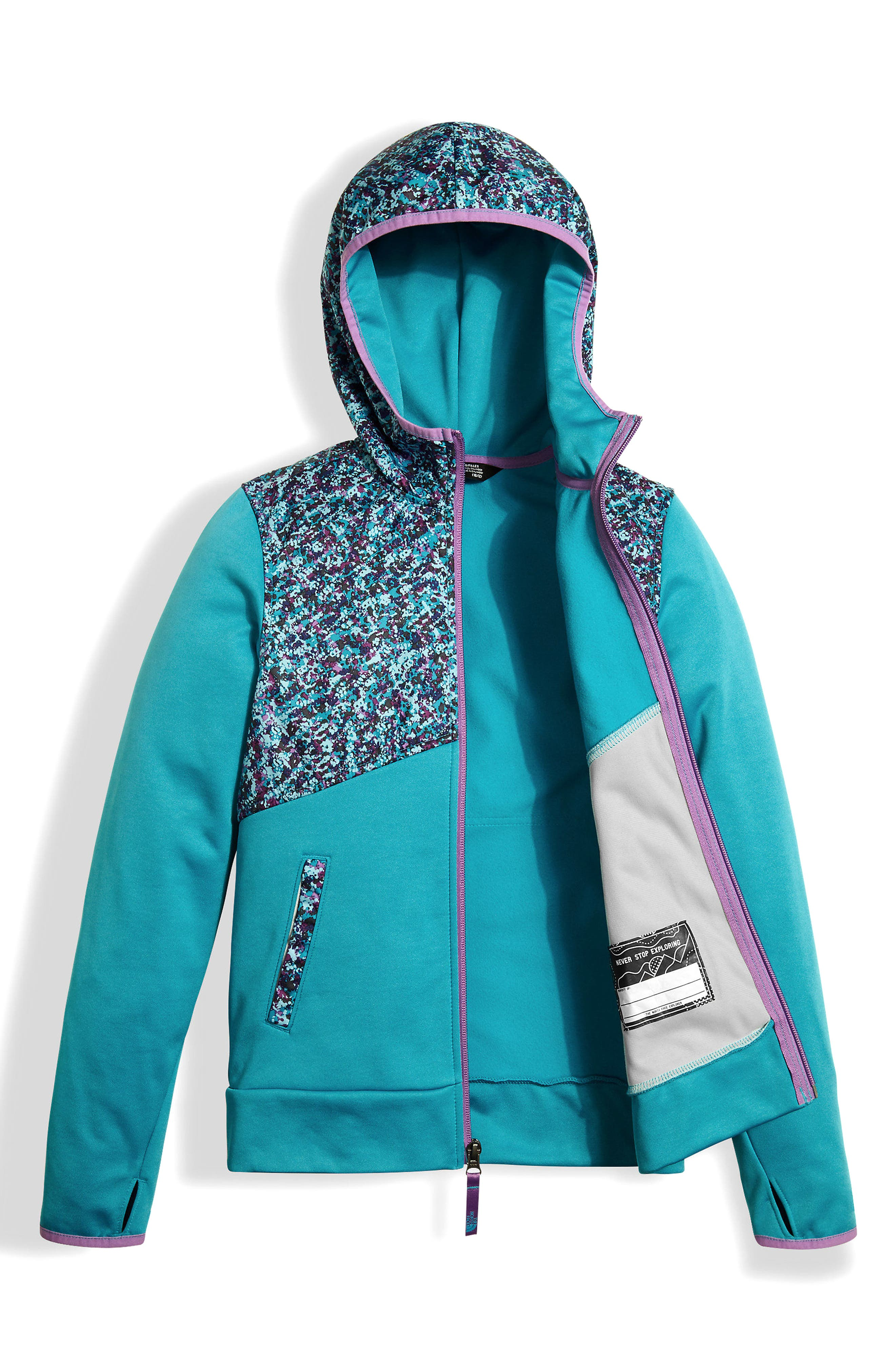 Alternate Image 3  - The North Face Kickin It Hoodie (Big Girls)