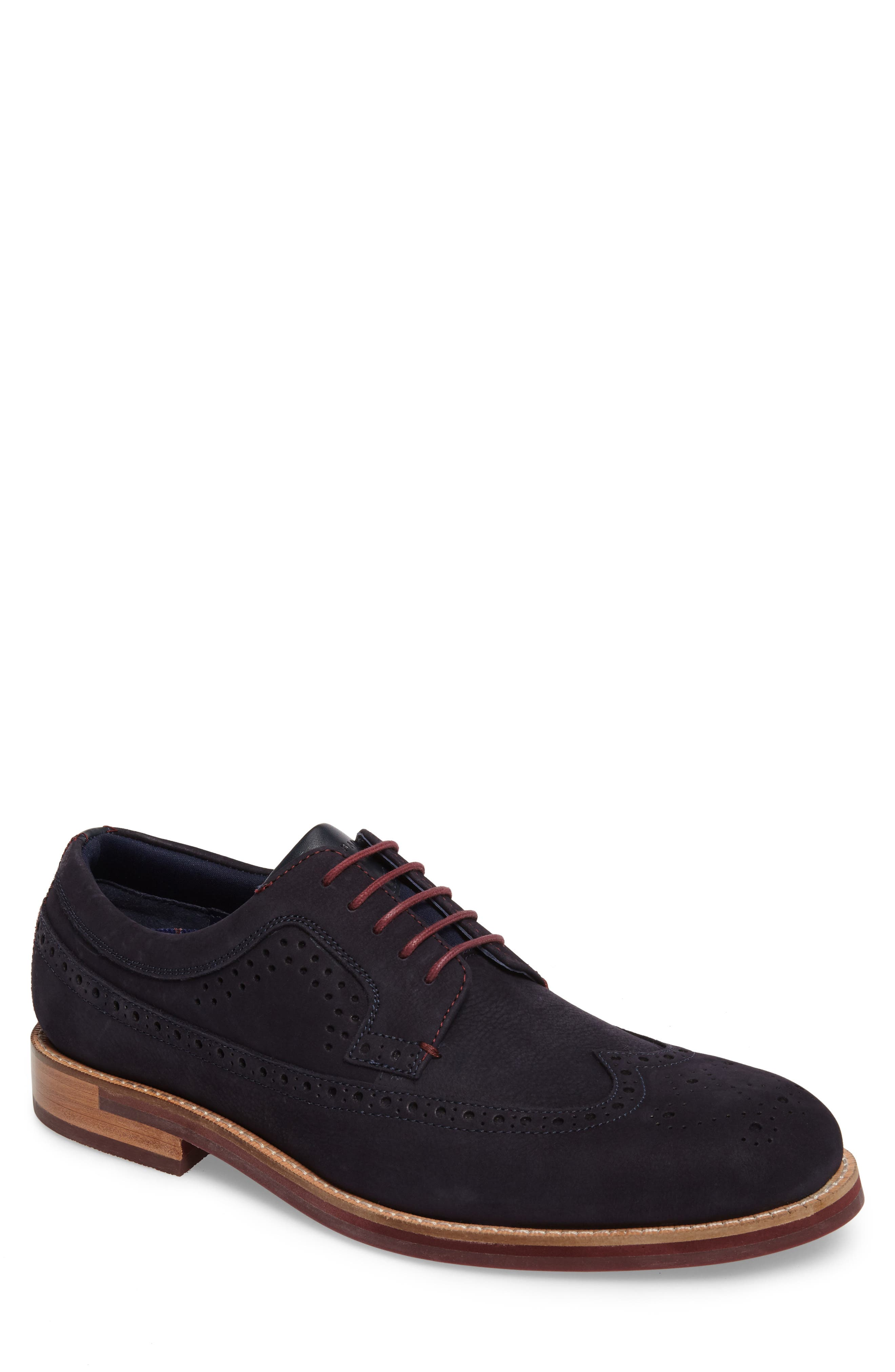 Main Image - Ted Baker London Fanngo Wingtip (Men)