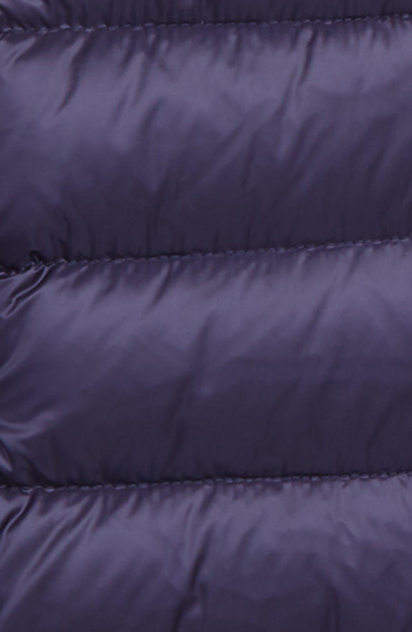 Alternate Image 2  - Moncler Nadra Hooded Down Jacket (Little Girls & Big Girls)