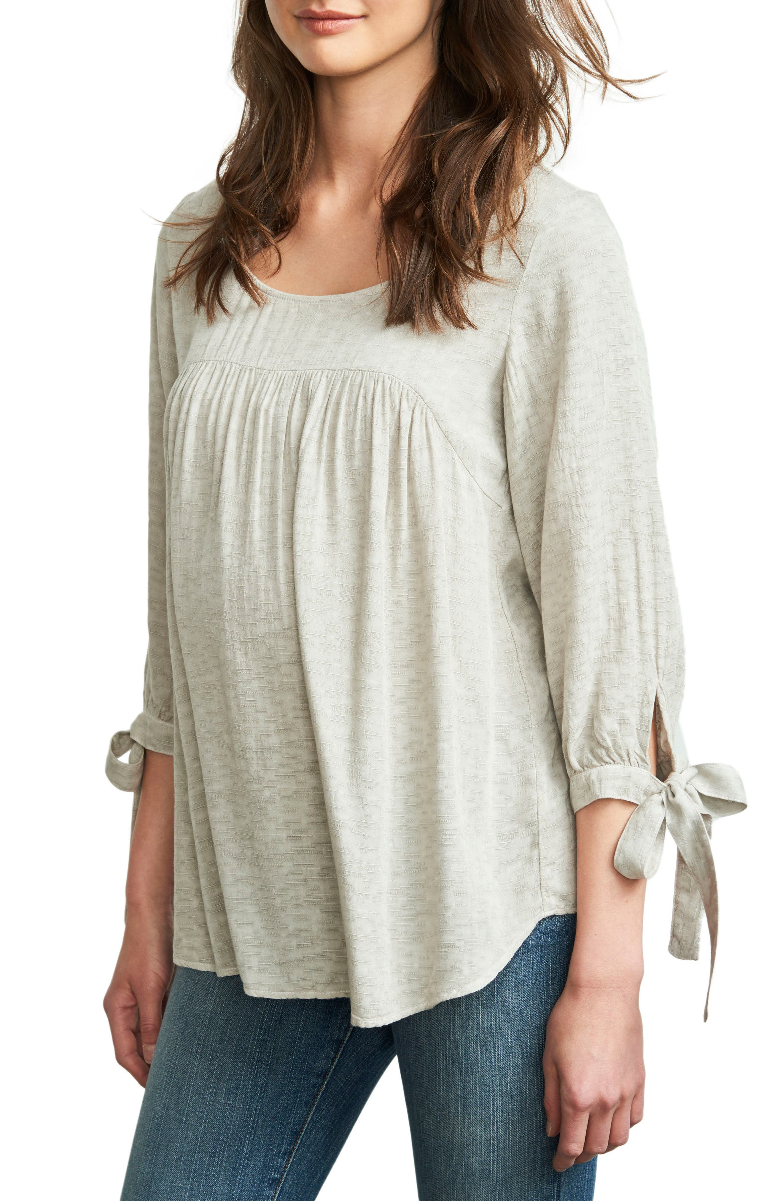 Maternal America Babydoll Maternity Top