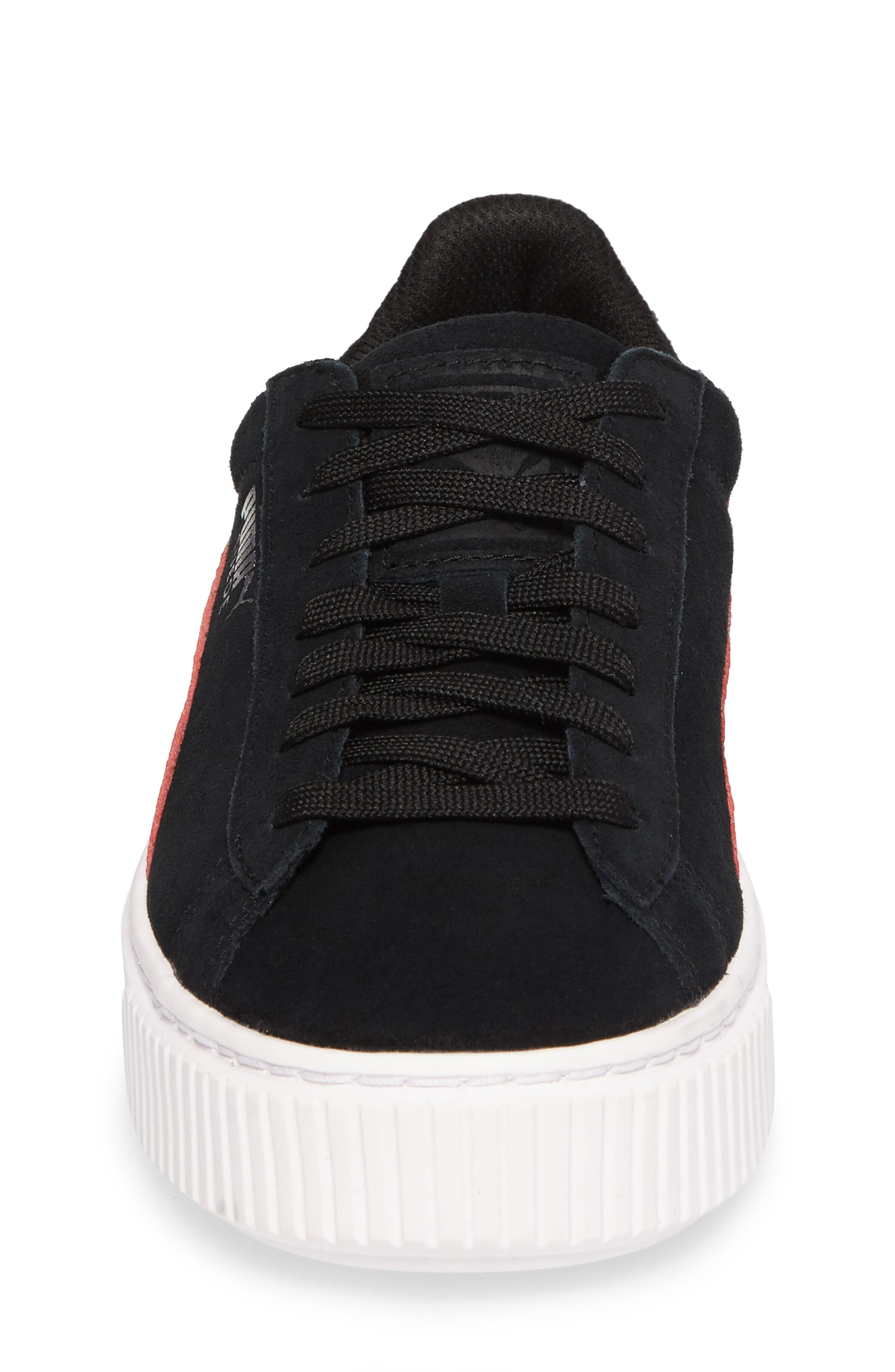 Alternate Image 4  - PUMA Platform Sneaker (Big Kid)