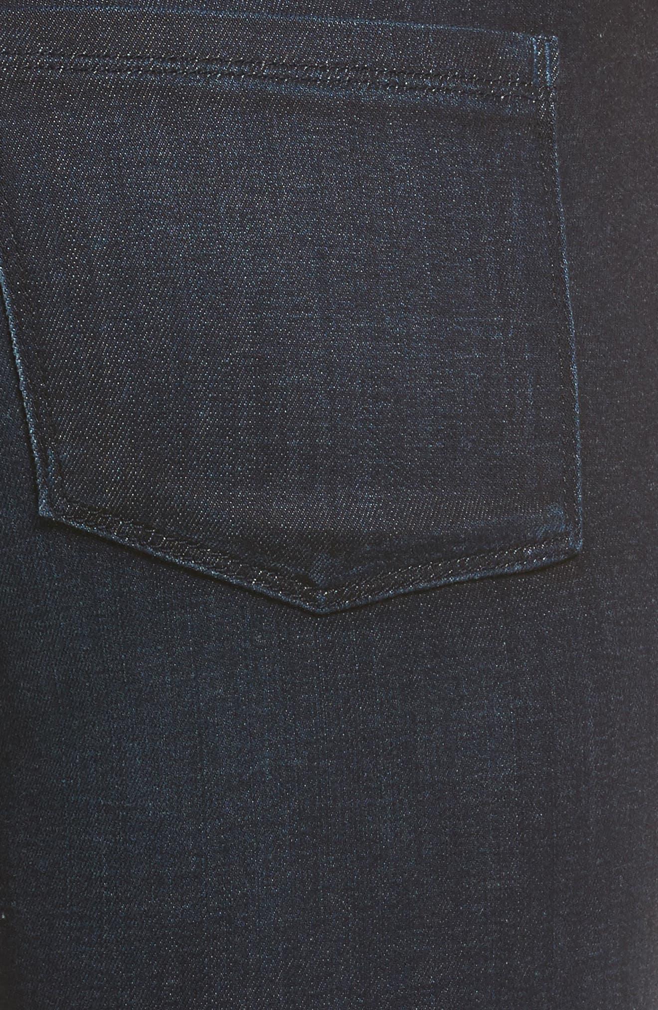 Alternate Image 5  - PARKER SMITH Becky Bootcut Jeans (Washed Sky)
